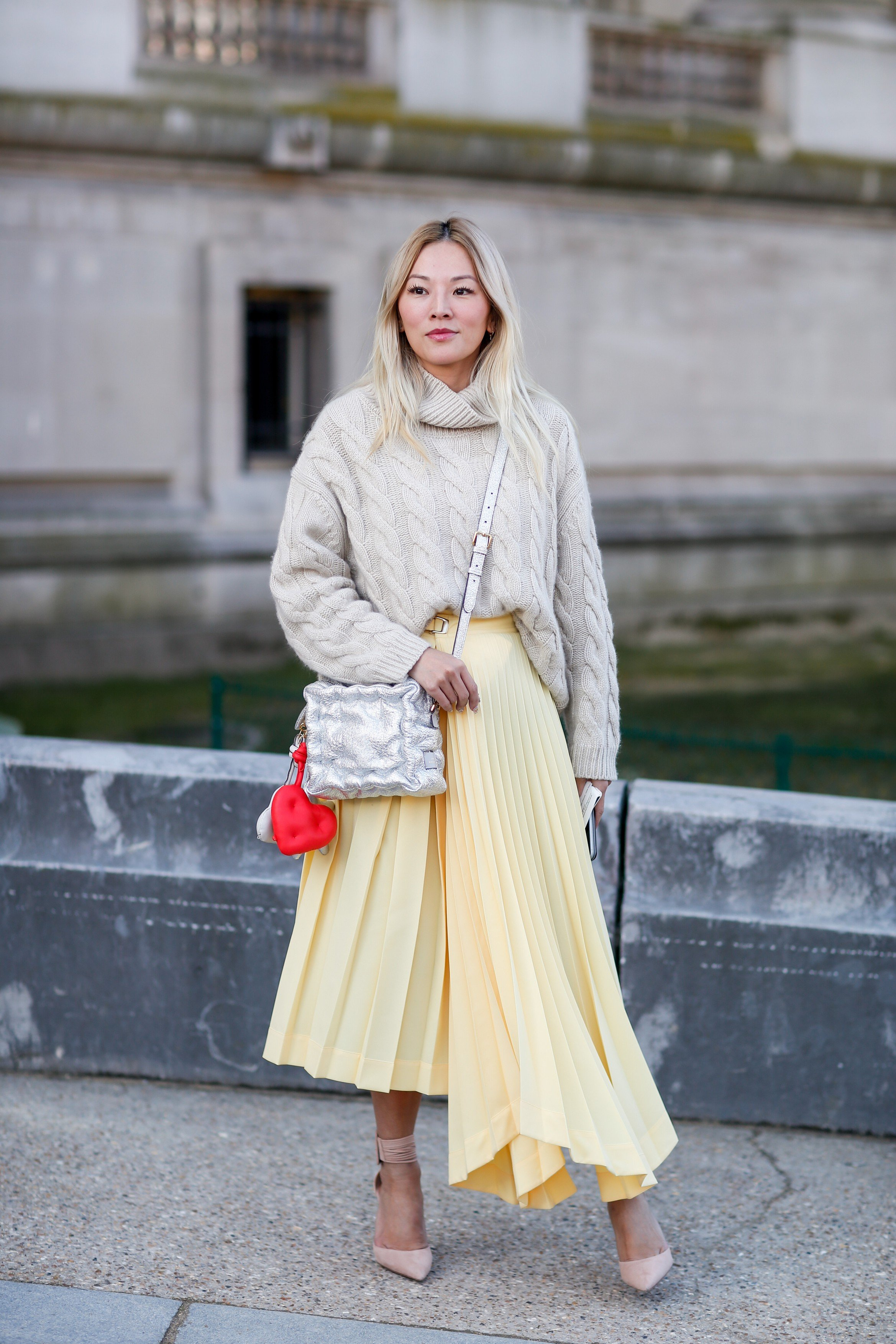 Street style, Tina Leung arriving at Elie Saab Fall-Winter 2018-2019 show held at le Grand Palais, in Paris, France, on March 3rd, 2018., Image: 365410716, License: Rights-managed, Restrictions: , Model Release: no, Credit line: Profimedia, Abaca