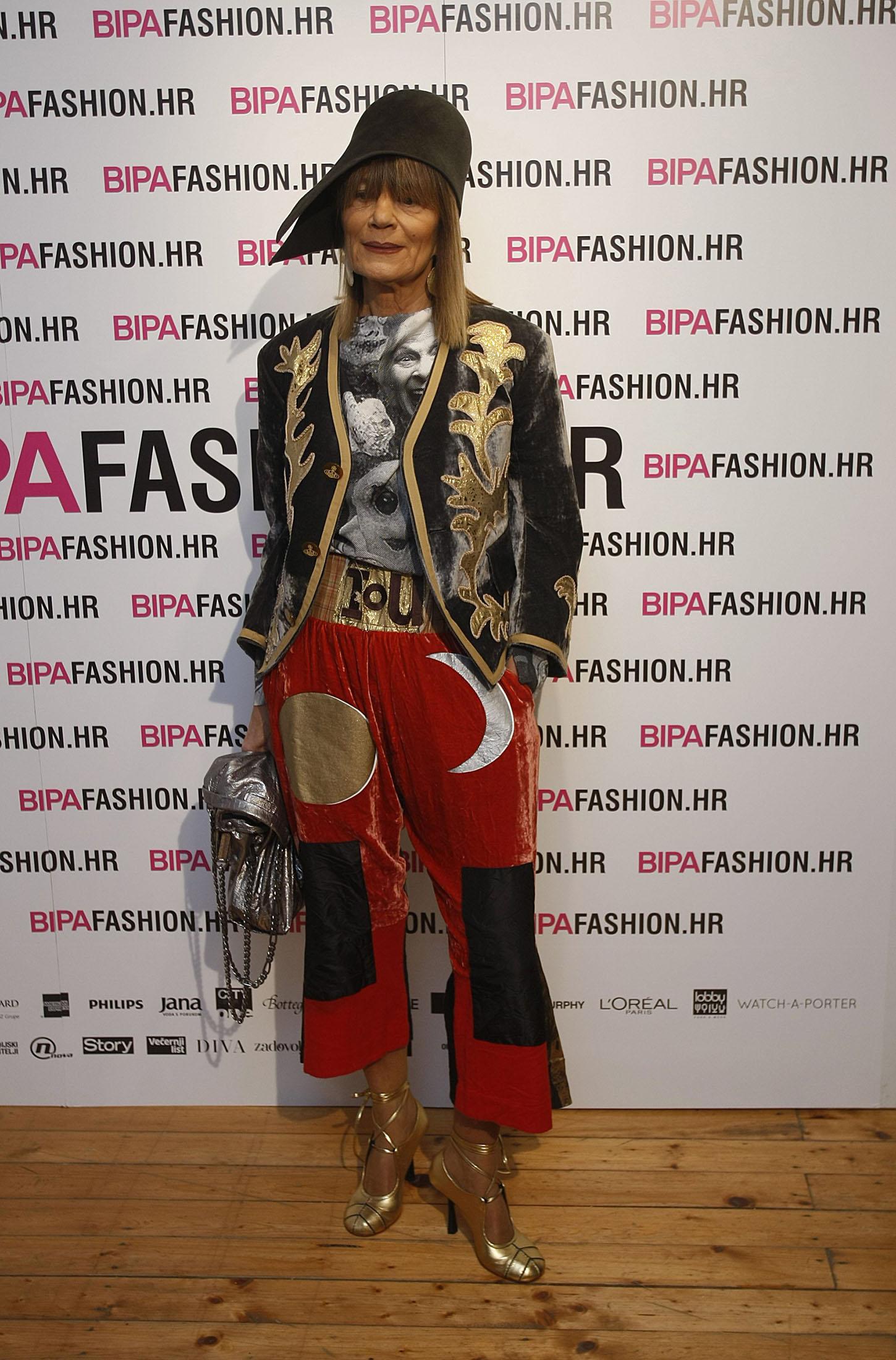 Đurđa Tedeschi na Bipa Fashion.hr-u 2018. godine