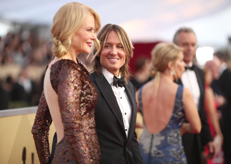 Nicole Kidman i Keith Urban na dodjeli SAG nagrada u siječnju ove godine
