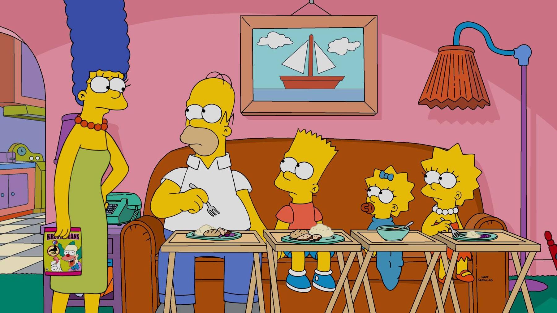 Simpsoni - Marge, Homer, Bart, Maggie i Lisa