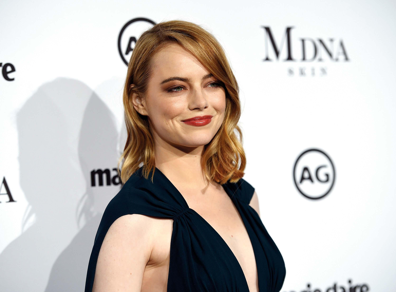 Glumica EMMA STONE (29) - neugodna kombinacija suhe kože i proširenih pora