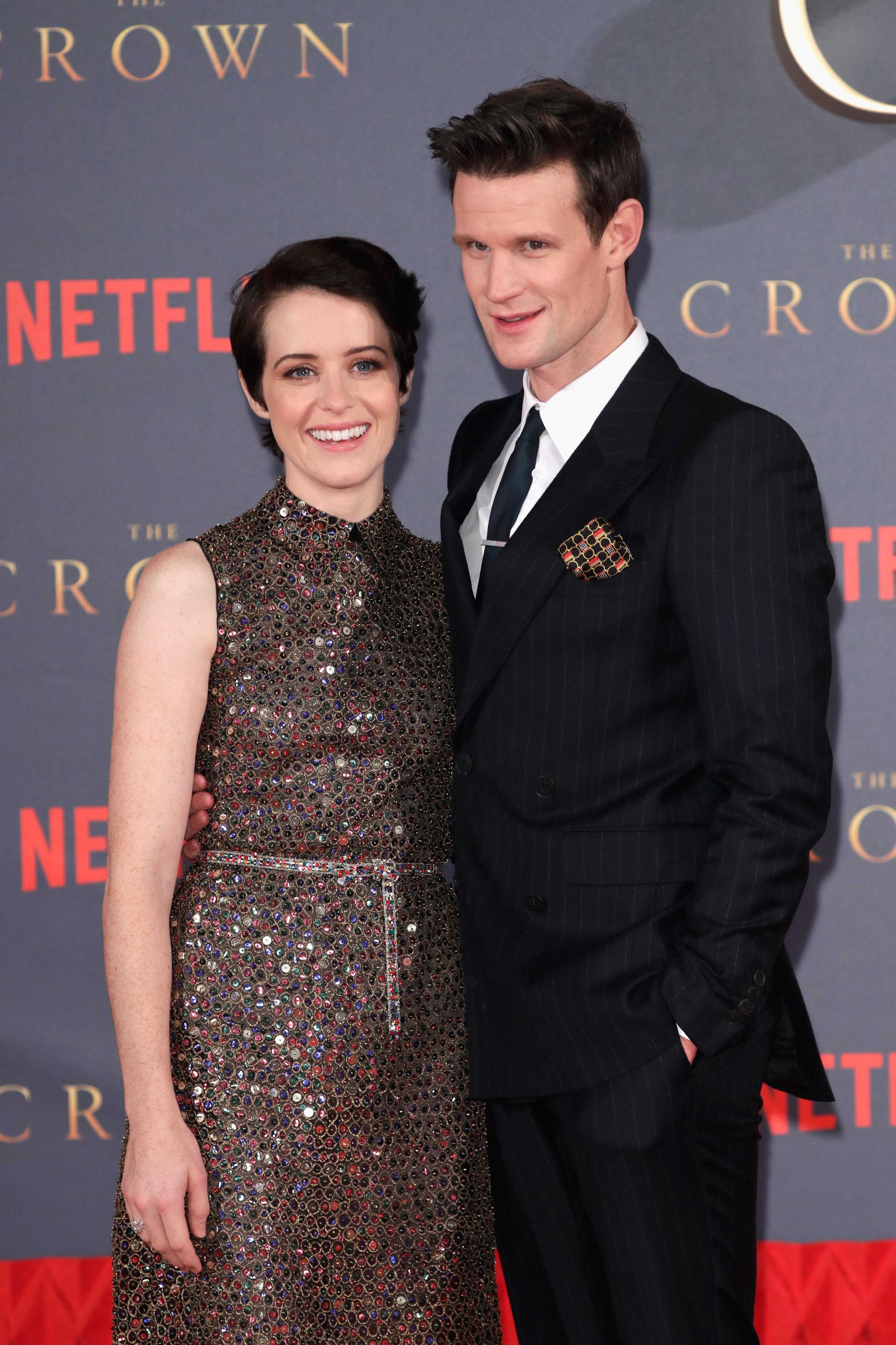 Claire Foy i Matt Smith