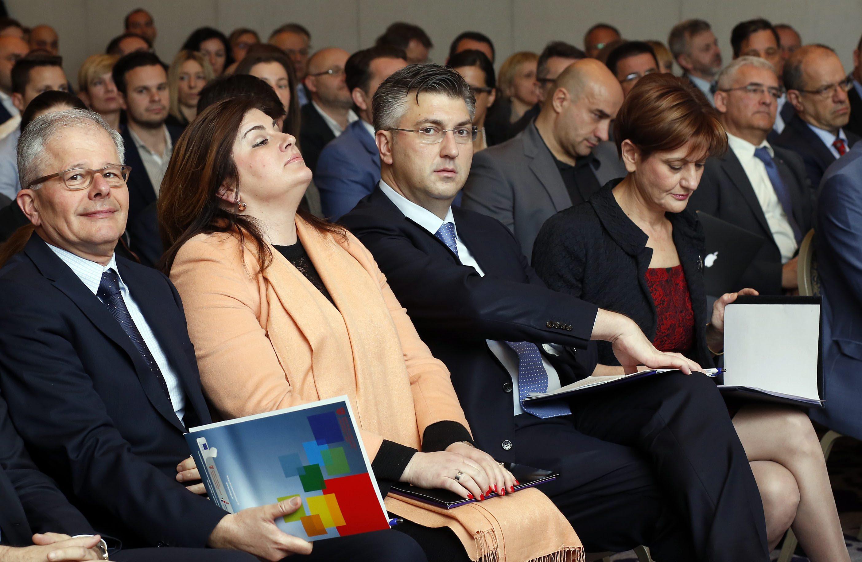 Gabrijela Žalac, Andrej Plenković