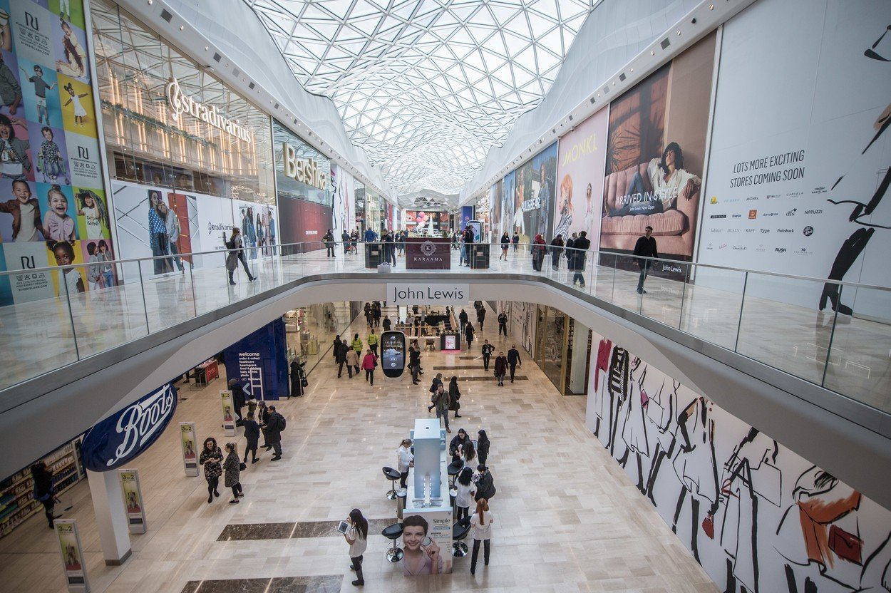 A general view of the Westfield London expansion Westfield London Expansion Opens, UK - 20 Mar 2018, Image: 366452856, License: Rights-managed, Restrictions: , Model Release: no, Credit line: Profimedia, TEMP Rex Features