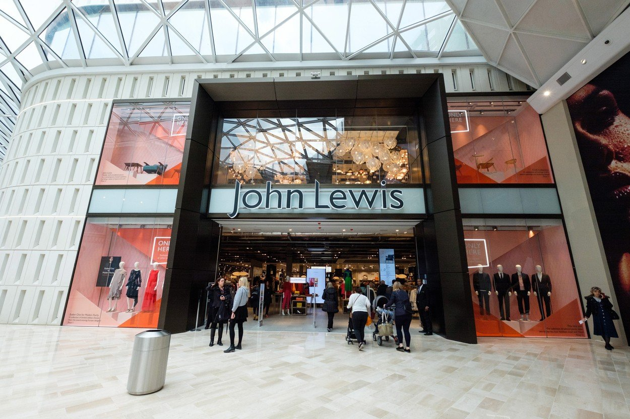 A general view of the John Lewis store in the new Westfield London expansion Westfield London Expansion Opens, UK - 20 Mar 2018, Image: 366471192, License: Rights-managed, Restrictions: , Model Release: no, Credit line: Profimedia, TEMP Rex Features