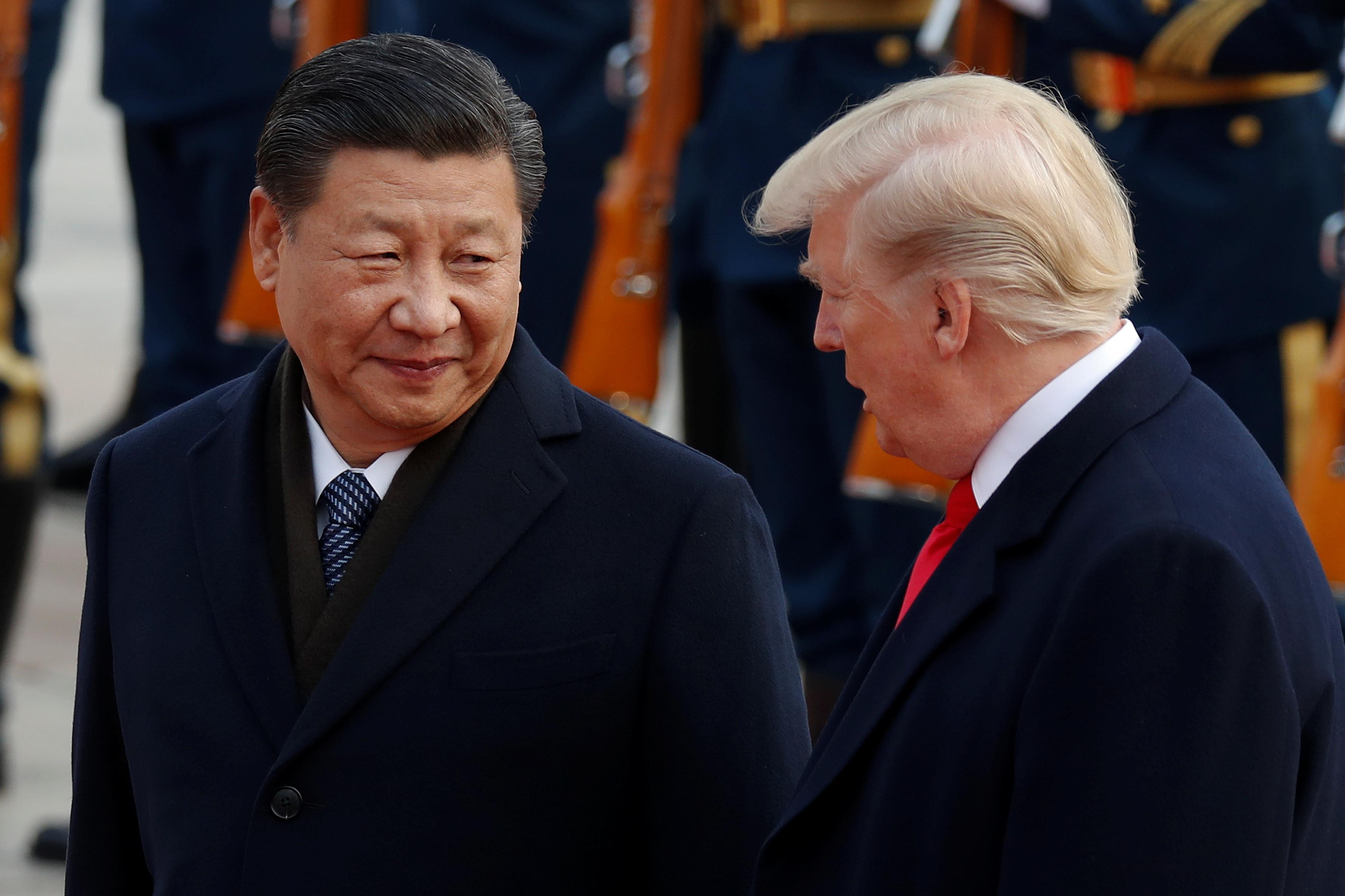 Kineski predsjednik Xi Jinping i američki predsjednik Donald Trump