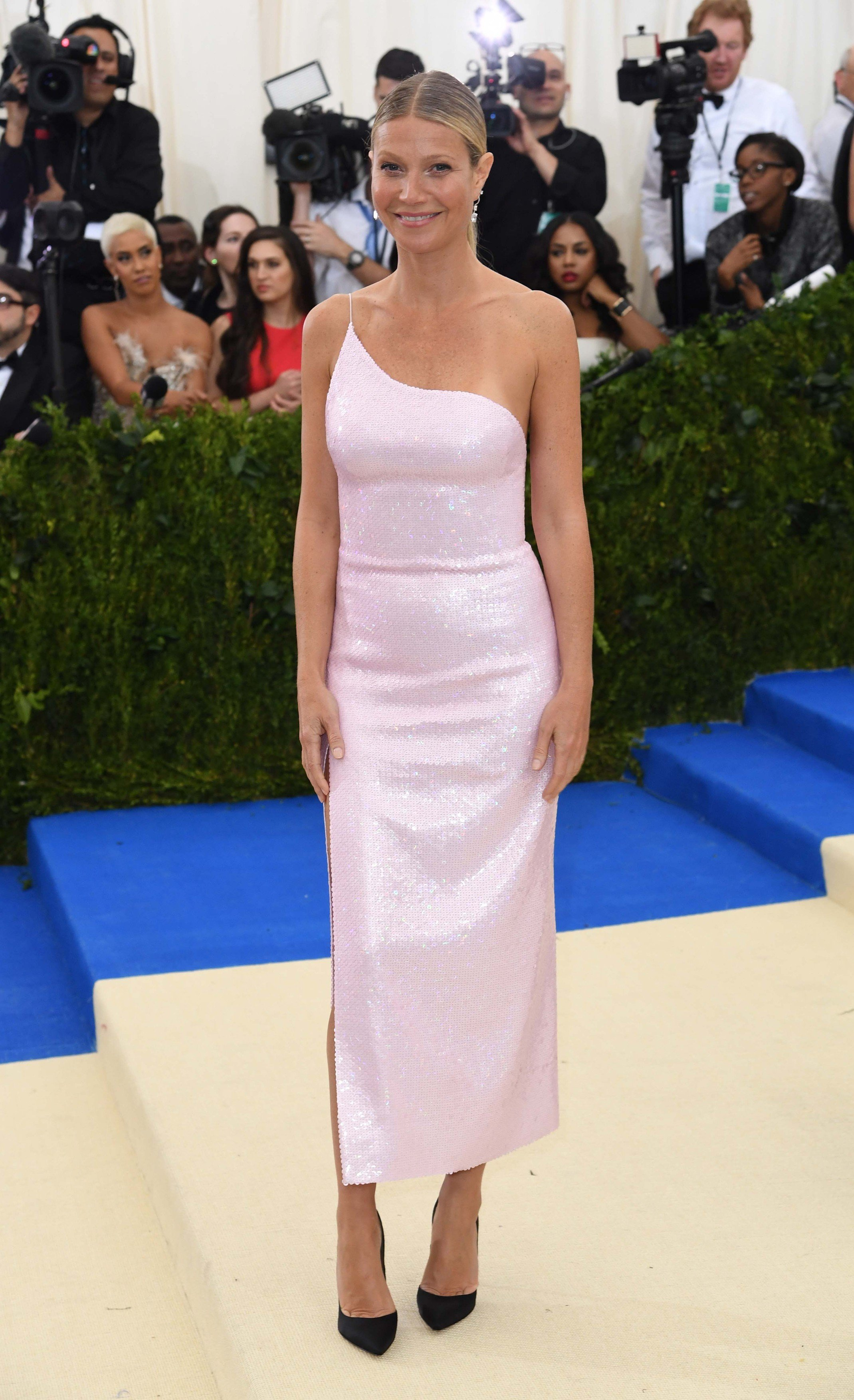 Gwyneth Paltrow attending The Metropolitan Museum of Art Costume Institute Benefit Gala 2017, in New York City, USA., Image: 330867910, License: Rights-managed, Restrictions: , Model Release: no, Credit line: Profimedia, Press Association