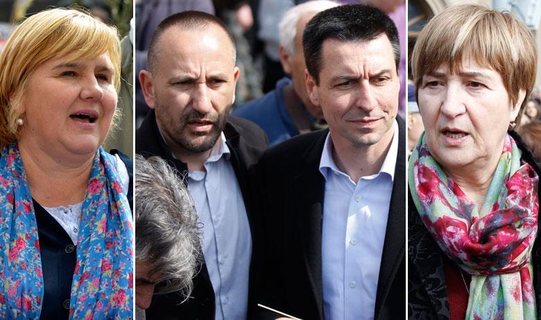 Želja Markić, Hrvoje Zekanović, Ladislav Ilčić, Ruža Tomašić