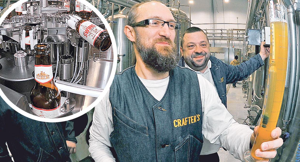Andrej Andrlić, pivovara Crafter's