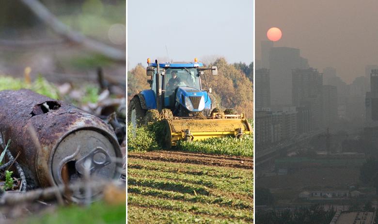 zagađenje poljoprivreda naselja
