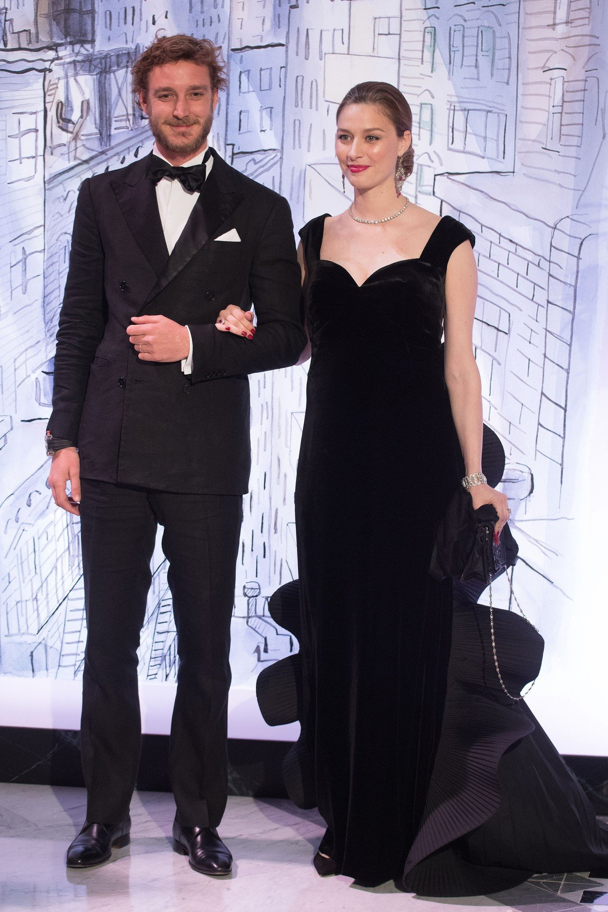 Pierre Casiraghi and Beatrice Casiraghi attend the Rose Ball 2018,  To Benefit The Princess Grace Foundation at Sporting Monte-Carlo in Monaco, MONACO on March 24, 2018//NIVIERE_069NIV/Credit:Niviere/Villard/SIPA/1803250640, Image: 366888280, License: Rights-managed, Restrictions: , Model Release: no, Credit line: Profimedia, TEMP Sipa Press