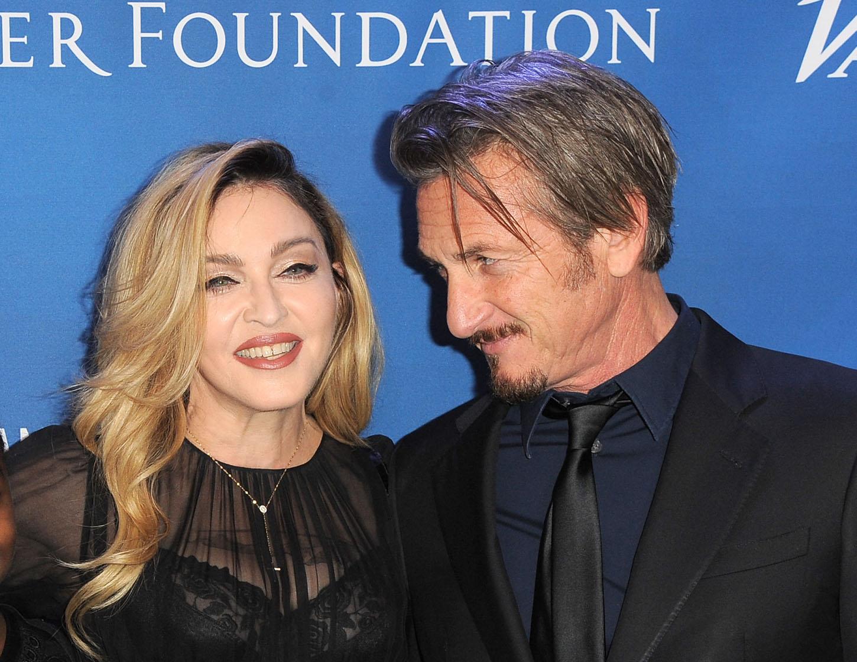 Madonna i Sean Penn 2016. na njegovoj humanitarnoj večeri