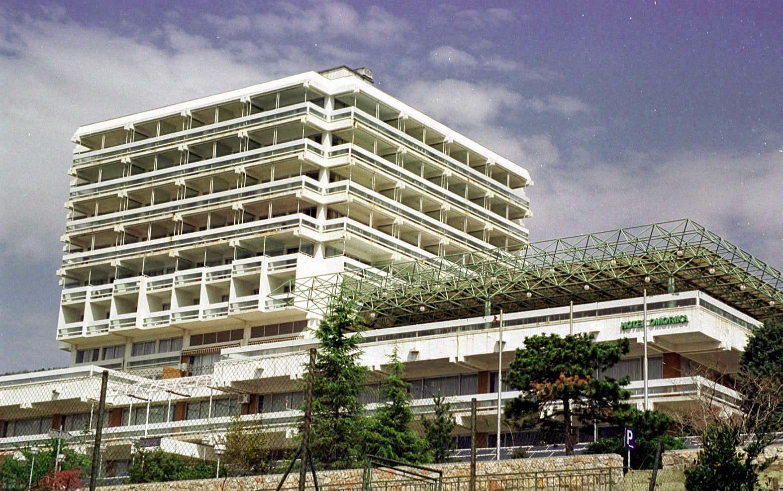 Arhivska fotografija: Hotel Omorika, u sklopu poduzeća Jadran Crikvenica