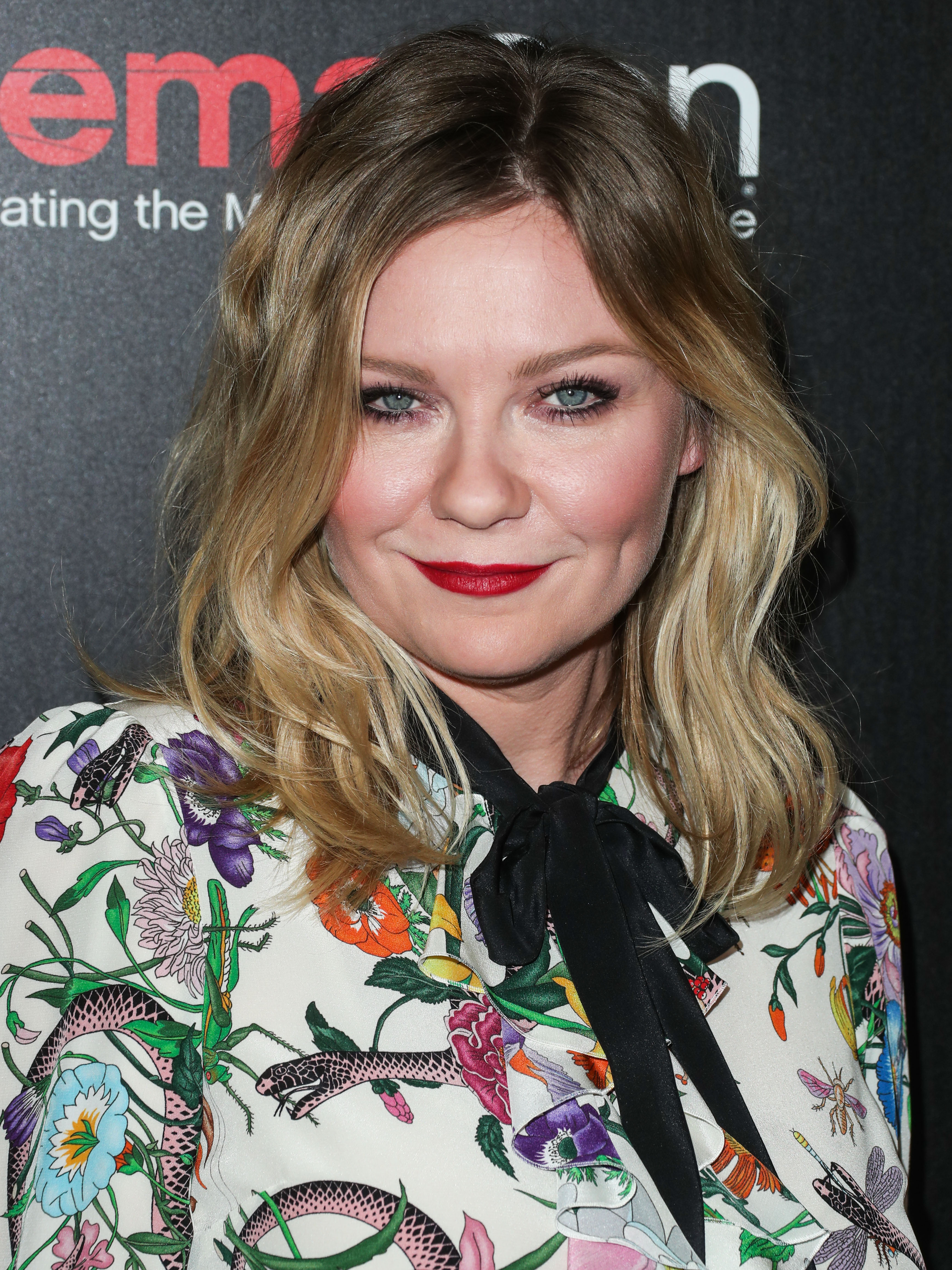 LAS VEGAS, NV, USA - MARCH 29: Actress Kirsten Dunst arrives at the CinemaCon 2017 - Focus Features Luncheon And Studio Program Celebrating 15 Years held at the Octavius Ballroom at Caesars Palace during CinemaCon, the official convention of the National Association of Theatre Owners on March 29, 2017 in Las Vegas, Nevada, United States. (Photo by Xavier Collin/Image Press Agency/Splash News) <P> Pictured: Kirsten Dunst <B>Ref: SPL1470411  290317  </B><BR/> Picture by: Xavier Collin/IPA/Splash News<BR/> </P><P> <B>Splash News and Pictures</B><BR/> Los Angeles:310-821-2666<BR/> New York:212-619-2666<BR/> London:870-934-2666<BR/> <span id=