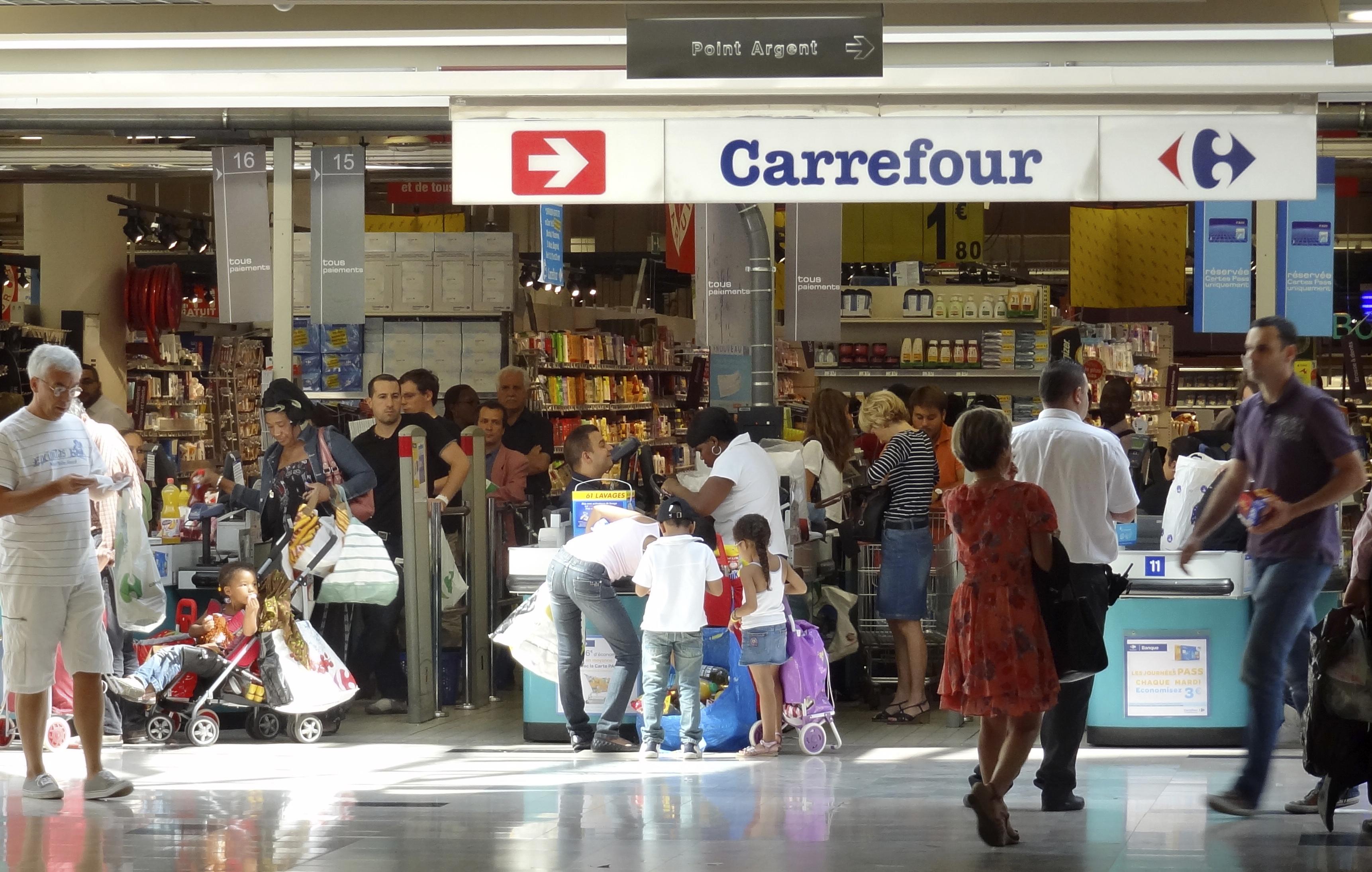 Supermarket Carrefour u Francuskoj