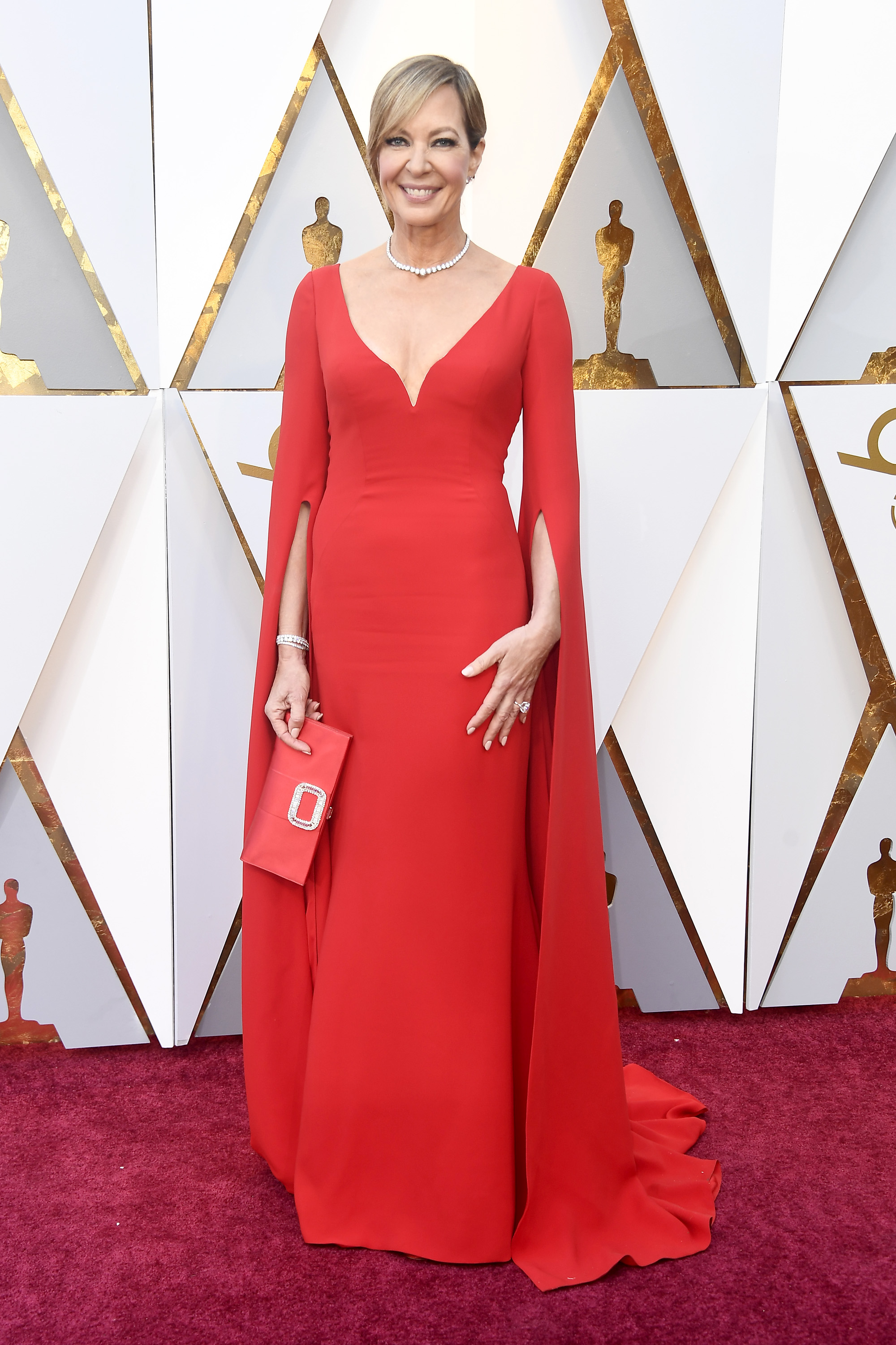 HOLLYWOOD, CA - MARCH 04:  Allison Janney attends the 90th Annual Academy Awards at Hollywood & Highland Center on March 4, 2018 in Hollywood, California.  (Photo by Frazer Harrison/Getty Images)