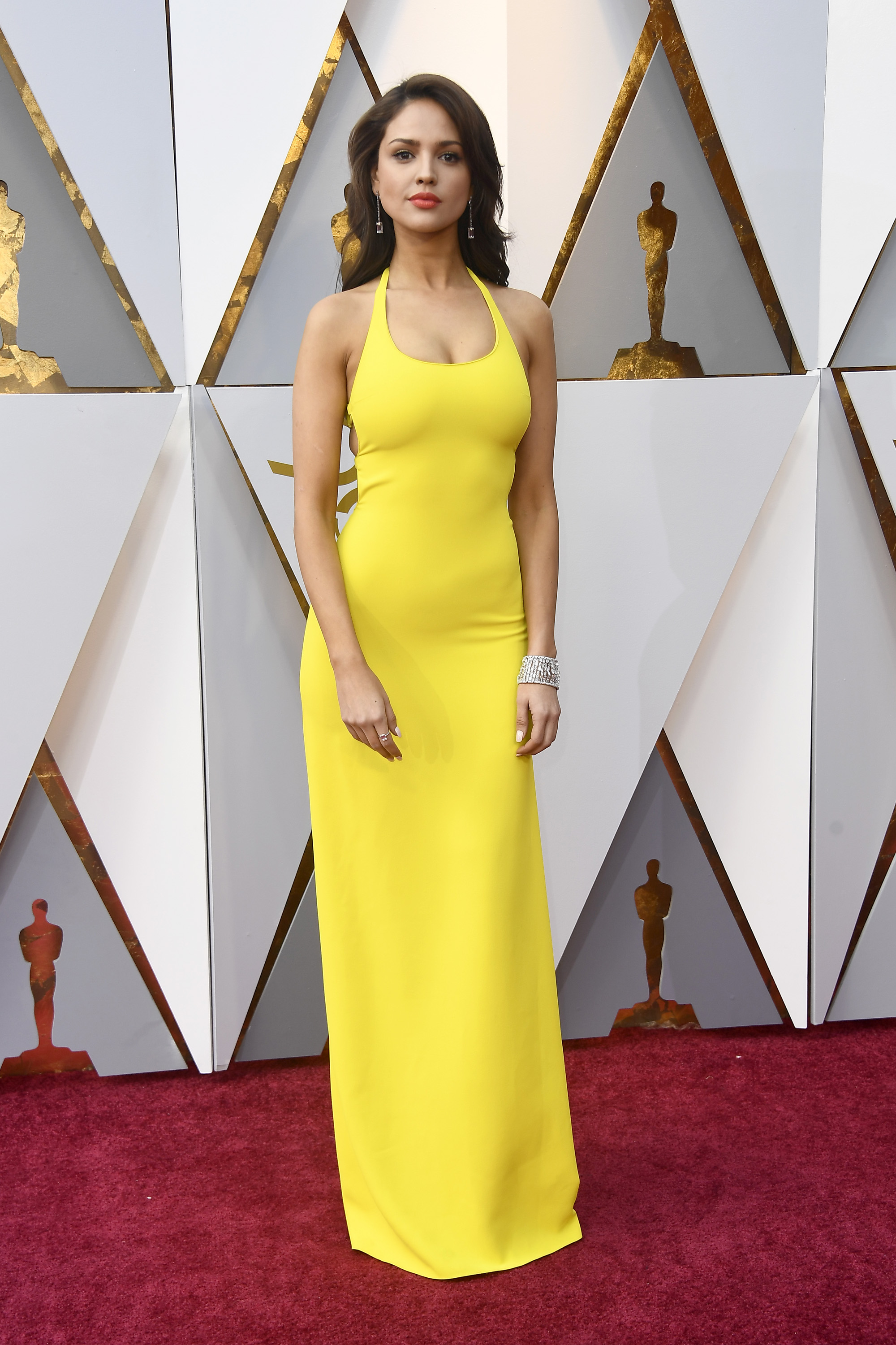 HOLLYWOOD, CA - MARCH 04:  Eiza Gonzalez attends the 90th Annual Academy Awards at Hollywood & Highland Center on March 4, 2018 in Hollywood, California.  (Photo by Frazer Harrison/Getty Images)
