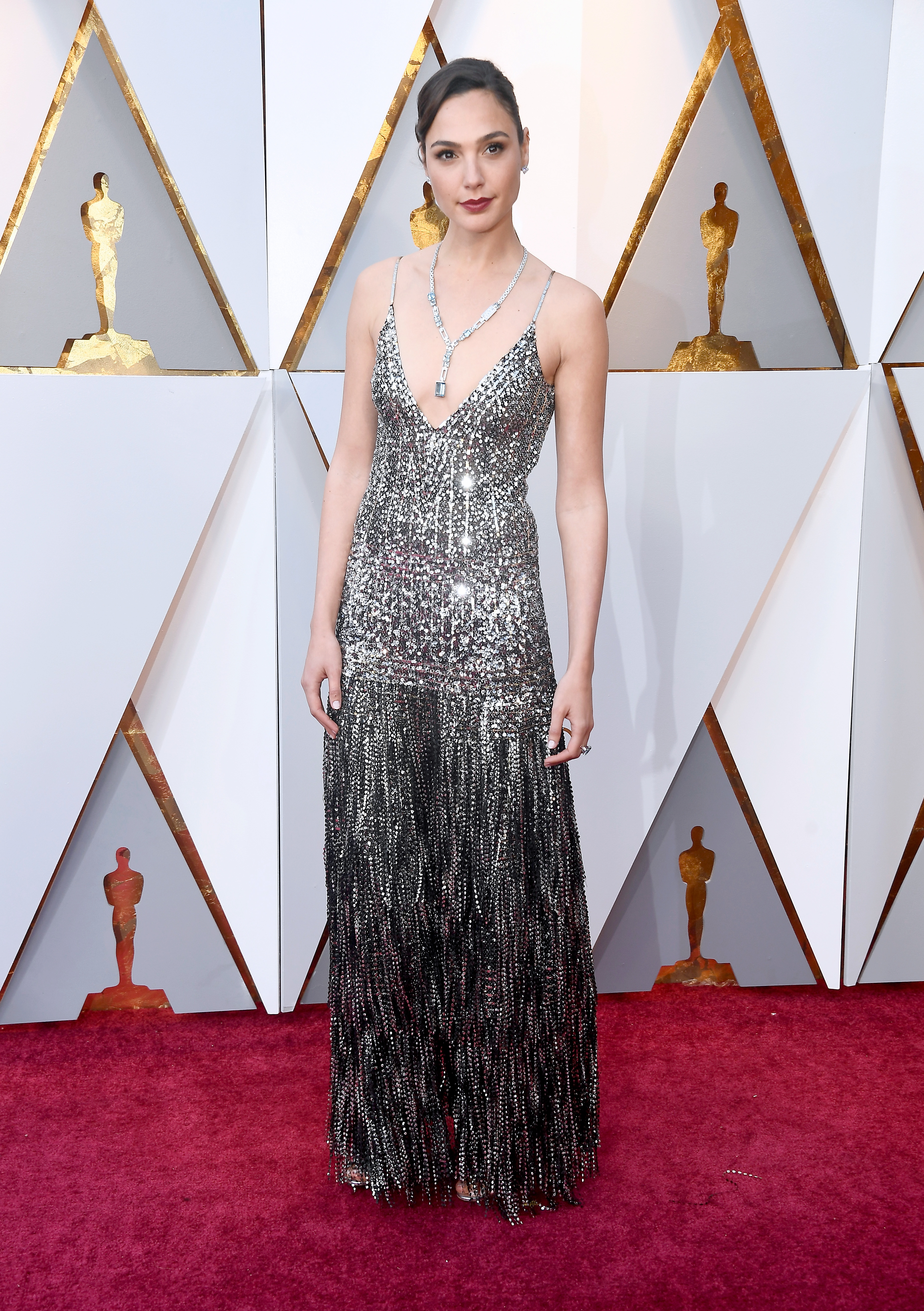 HOLLYWOOD, CA - MARCH 04: Gal Gadot attends the 90th Annual Academy Awards at Hollywood & Highland Center on March 4, 2018 in Hollywood, California.  (Photo by Frazer Harrison/Getty Images)