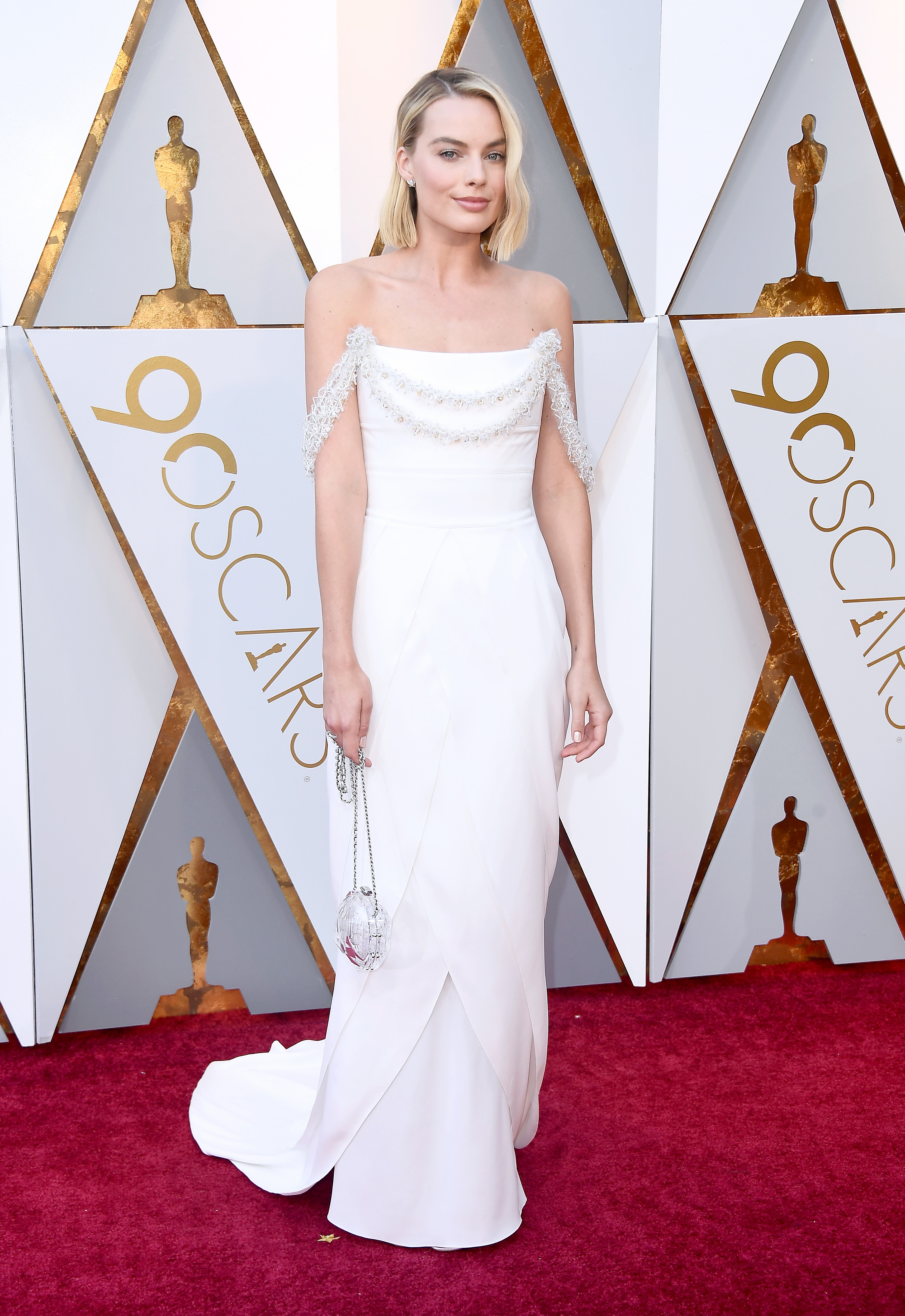 HOLLYWOOD, CA - MARCH 04: Margot Robbie attends the 90th Annual Academy Awards at Hollywood & Highland Center on March 4, 2018 in Hollywood, California.  (Photo by Frazer Harrison/Getty Images)