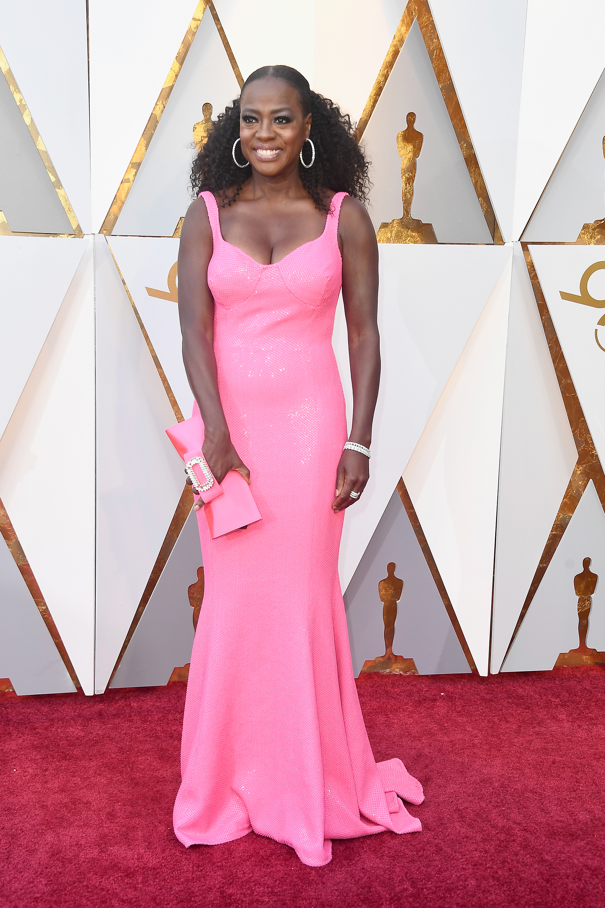HOLLYWOOD, CA - MARCH 04:  Viola Davis attends the 90th Annual Academy Awards at Hollywood & Highland Center on March 4, 2018 in Hollywood, California.  (Photo by Frazer Harrison/Getty Images)