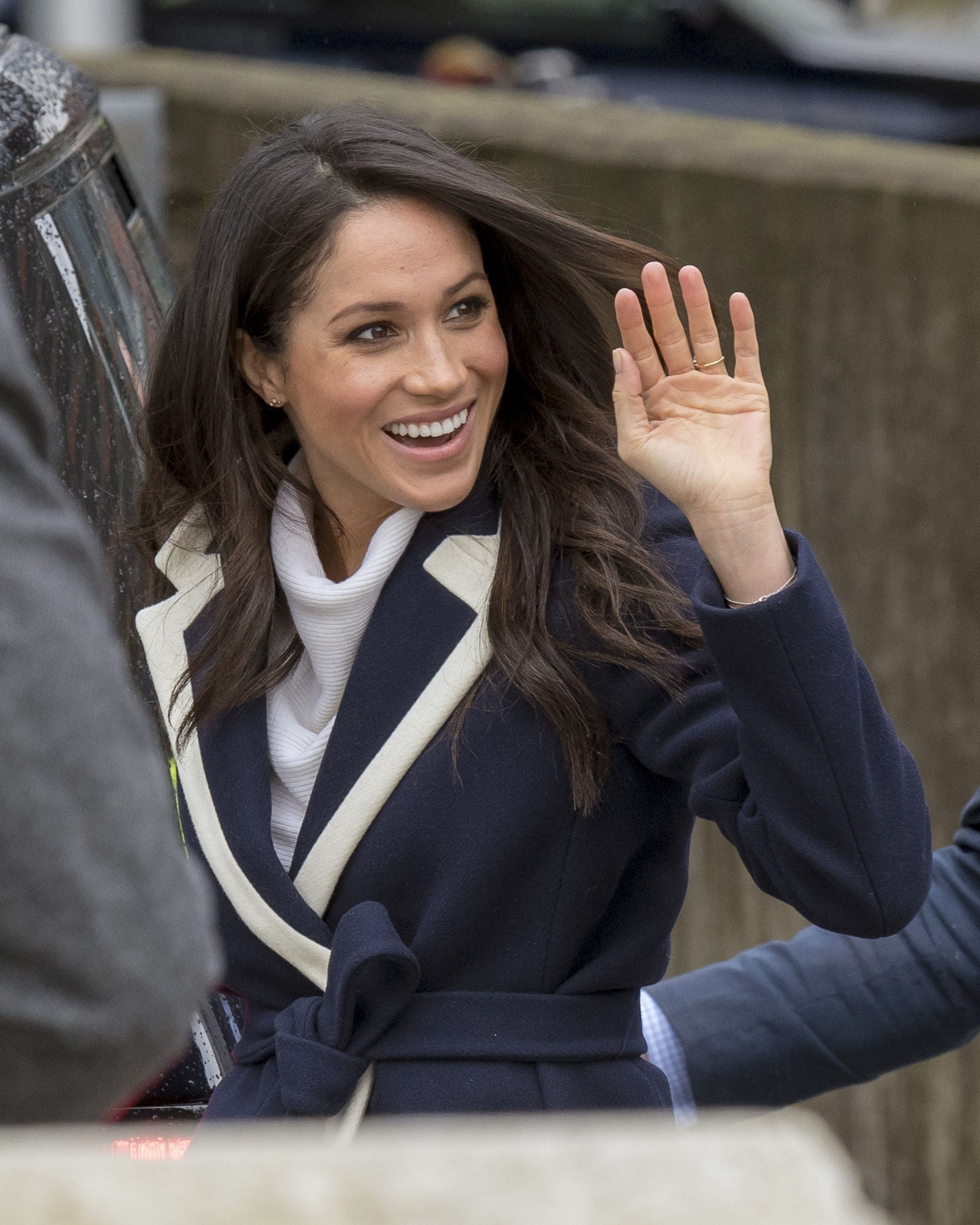 BGUK_1167466 - Birmingham, UNITED KINGDOM  -   Newly engaged Meghan Markle visits Birmingham during International Women's Day 2018  Pictured: Meghan Markle    *UK Clients - Pictures Containing Children Please Pixelate Face Prior To Publication*, Image: 365505405, License: Rights-managed, Restrictions: , Model Release: no, Credit line: Profimedia, Xposurephotos