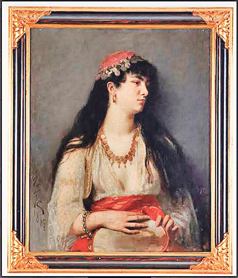 Slika 'Daleko od doma' nalazila se u zbirci Bukovčeva engleskog pokrovitelja