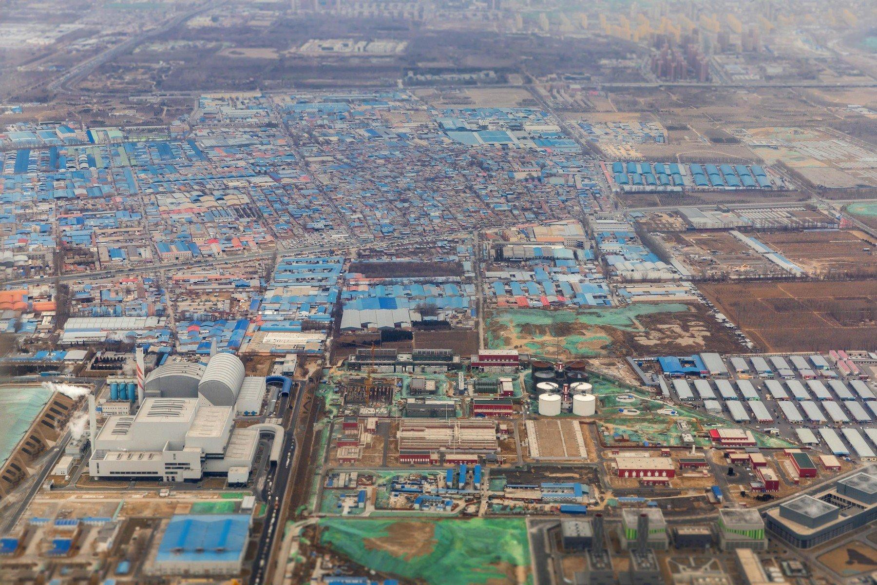 Industrijska zona u blizini Pekinga