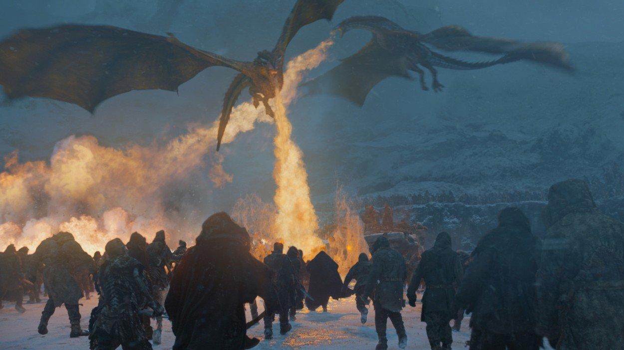 Scene iz sedme sezone serije Igra prijestolja