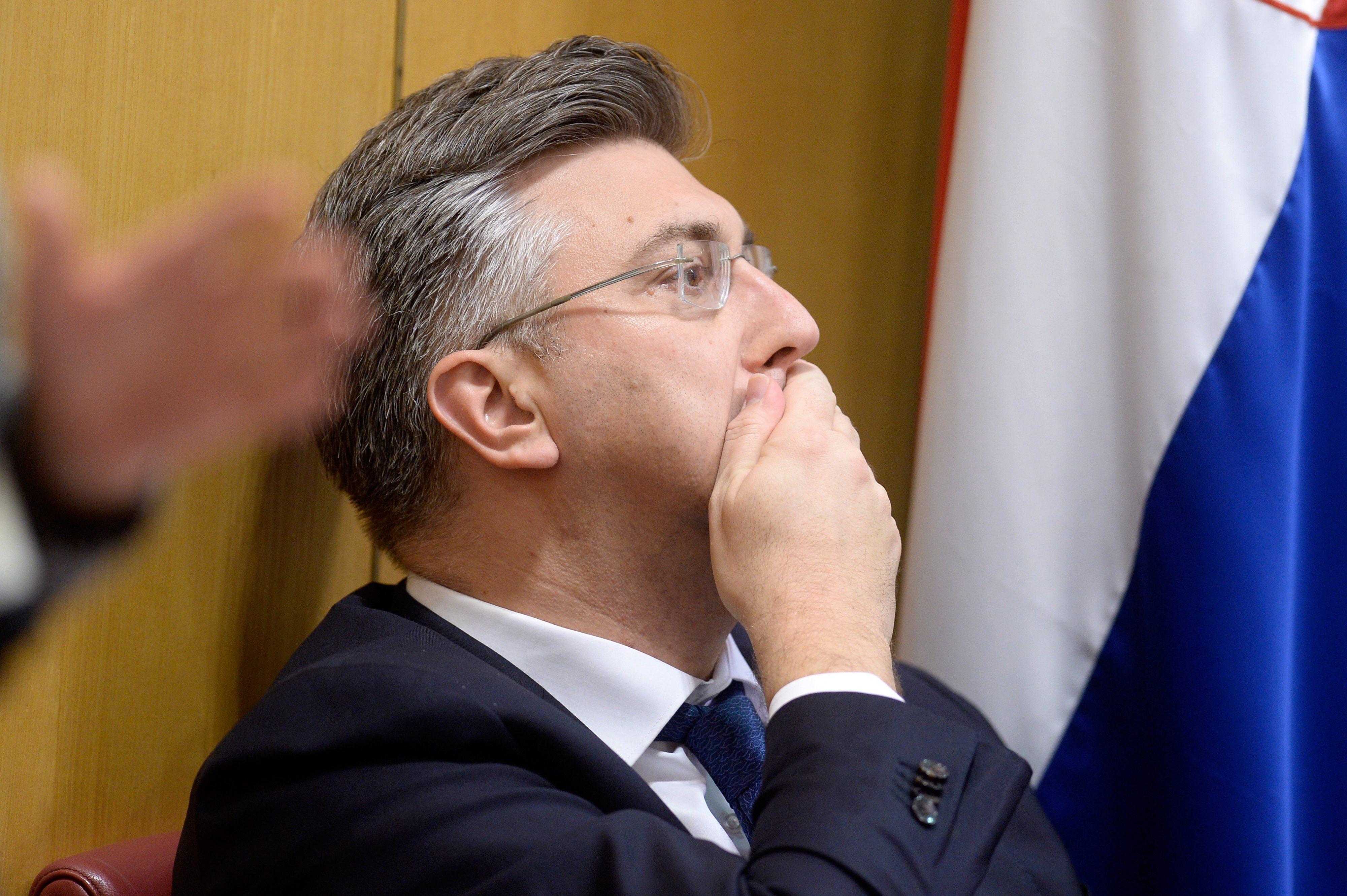 Andrej Plenković u Saboru