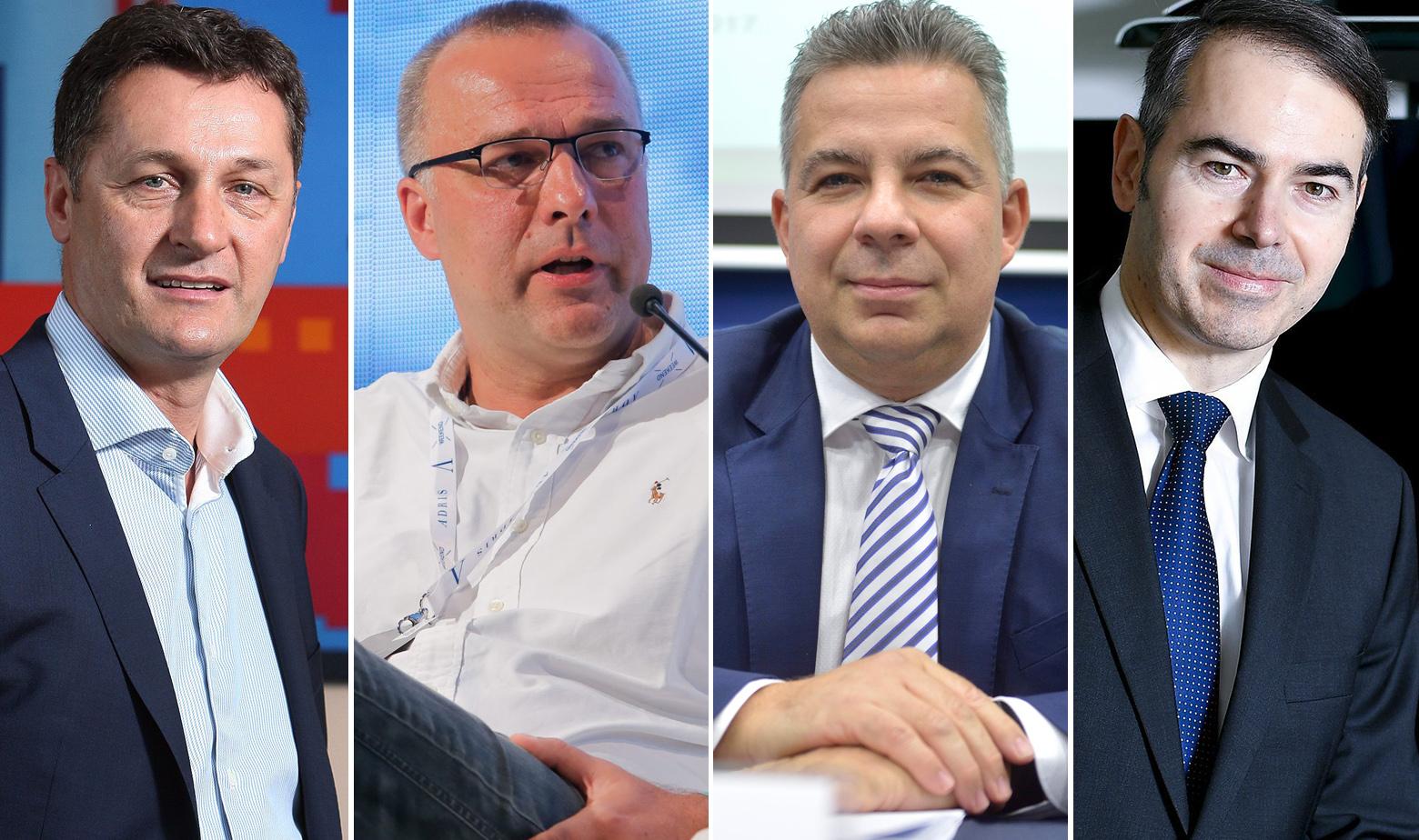 Jasminko Herceg, Davor Tomašković, Zoltan Aldot, Dinko Lucić
