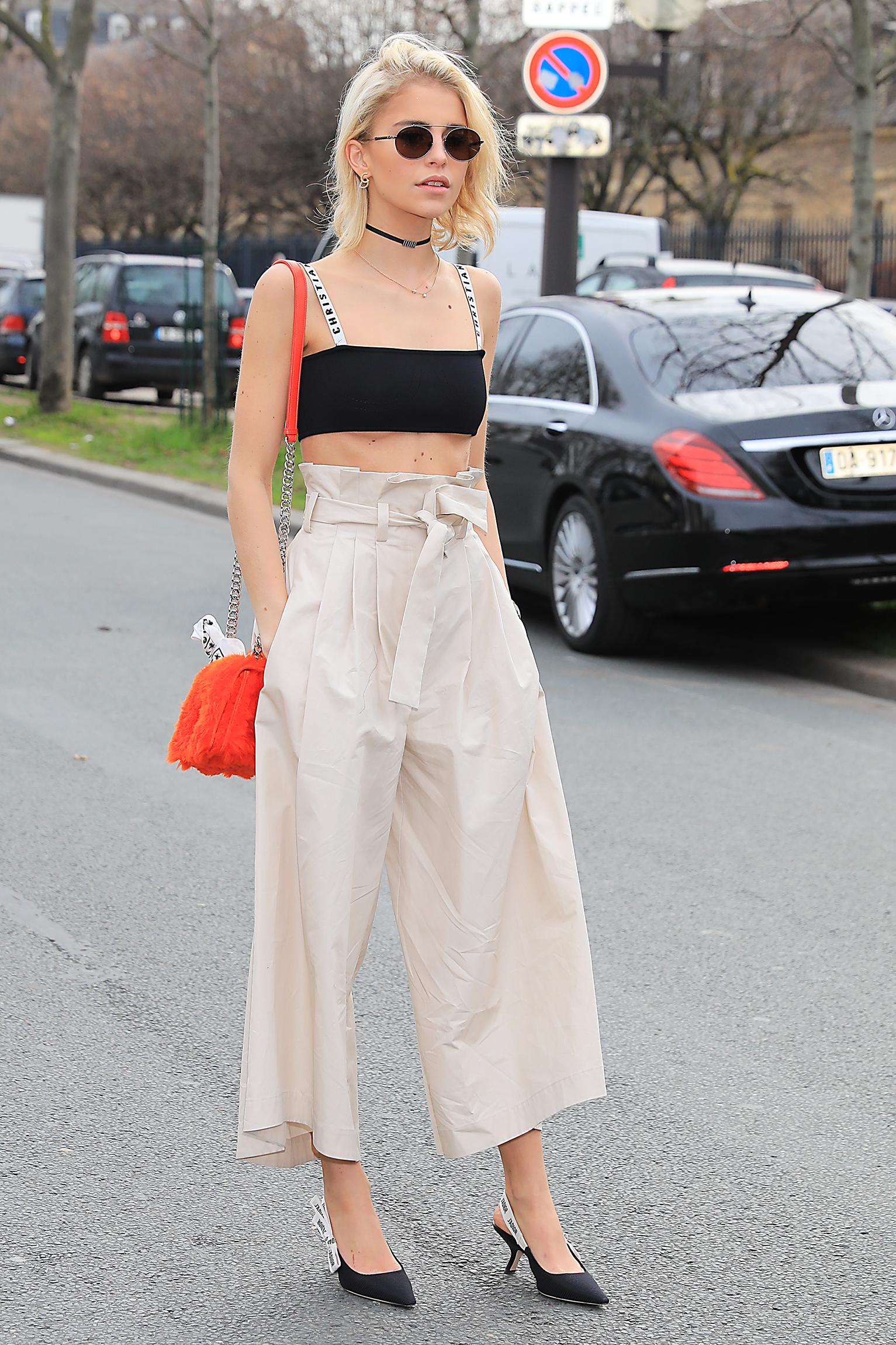 Caro Daur seen leaving Dior Fall Winter 2017 Women show during Paris Fashion Week <P> Pictured: Caro Daur <B>Ref: SPL1455934  030317  </B><BR/> Picture by: Splash News<BR/> </P><P> <B>Splash News and Pictures</B><BR/> Los Angeles:310-821-2666<BR/> New York:212-619-2666<BR/> London:870-934-2666<BR/> <span id=