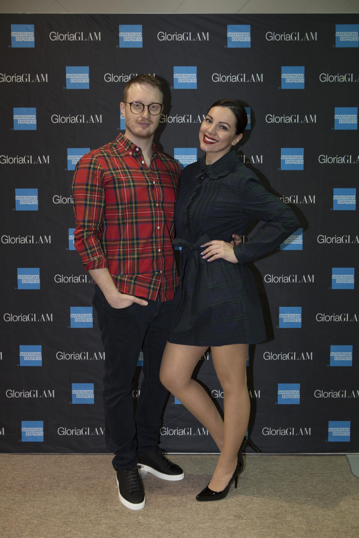 Promocija Gloria Glam broj 67 Zanamari Lalic i suprug Mario Percic Burberry Kaptol centar, Zagreb Fotograf Matej Dokic 120418