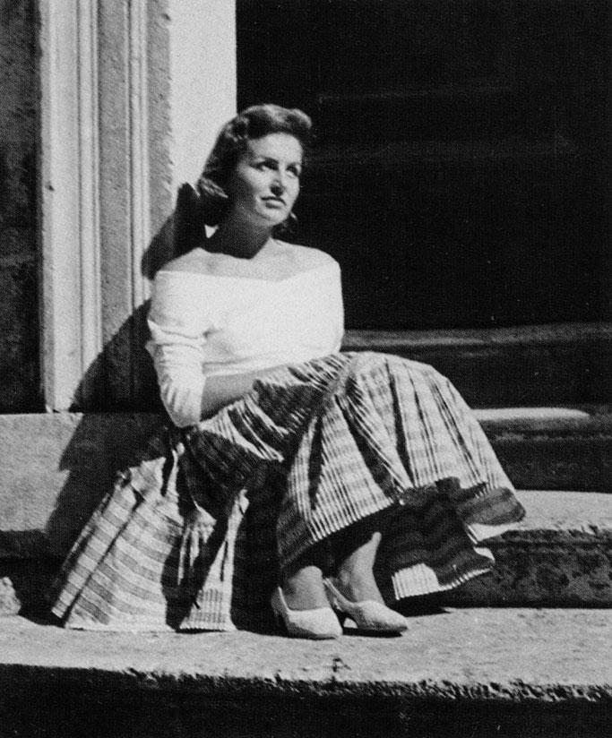 Vera Horvat Pintarić 1957. godine