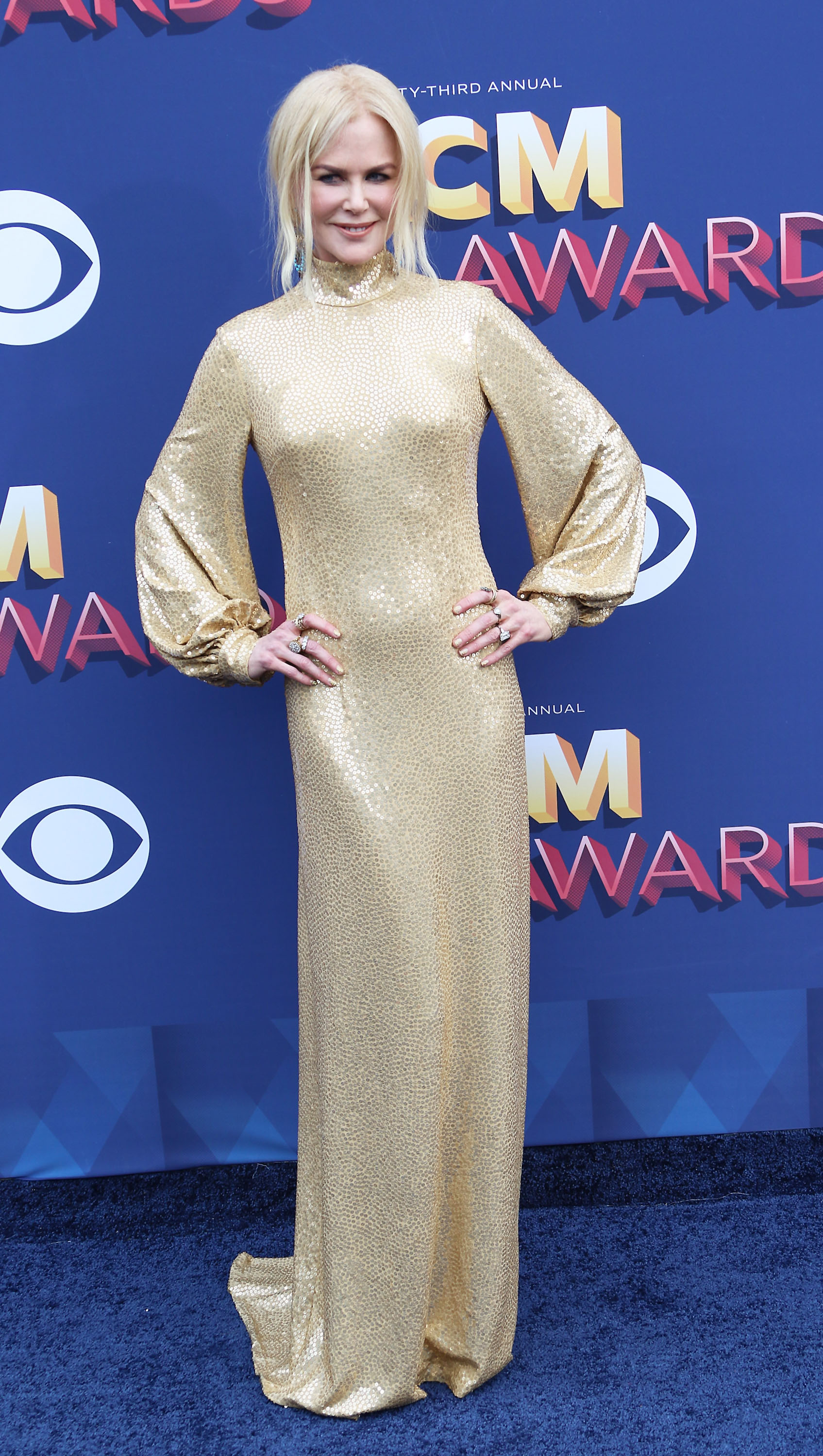 April 15, 2018 - Las Vegas, Nevada, United States of America -The 53 Academy of Country Music  Awards on April 15, 2018  at the MGM Grand  Arena in Las  Vegas, Nevada.  <P> Pictured: Nicole  Kidman <B>Ref: SPL1682575  160418  </B><BR/> Picture by: Zuma / Splash News<BR/> </P><P> <B>Splash News and Pictures</B><BR/> Los Angeles:310-821-2666<BR/> New York:212-619-2666<BR/> London:870-934-2666<BR/> <span id=