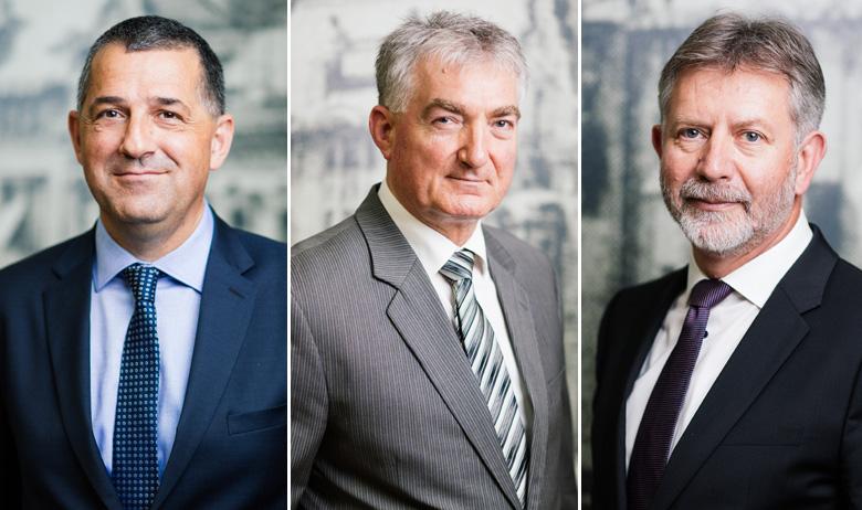 Mario Gudelj, Ivica Modrić i Zlatko Visković