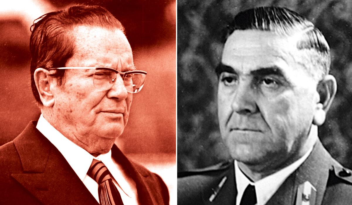 Josip Broz Tito i Ante Pavelić