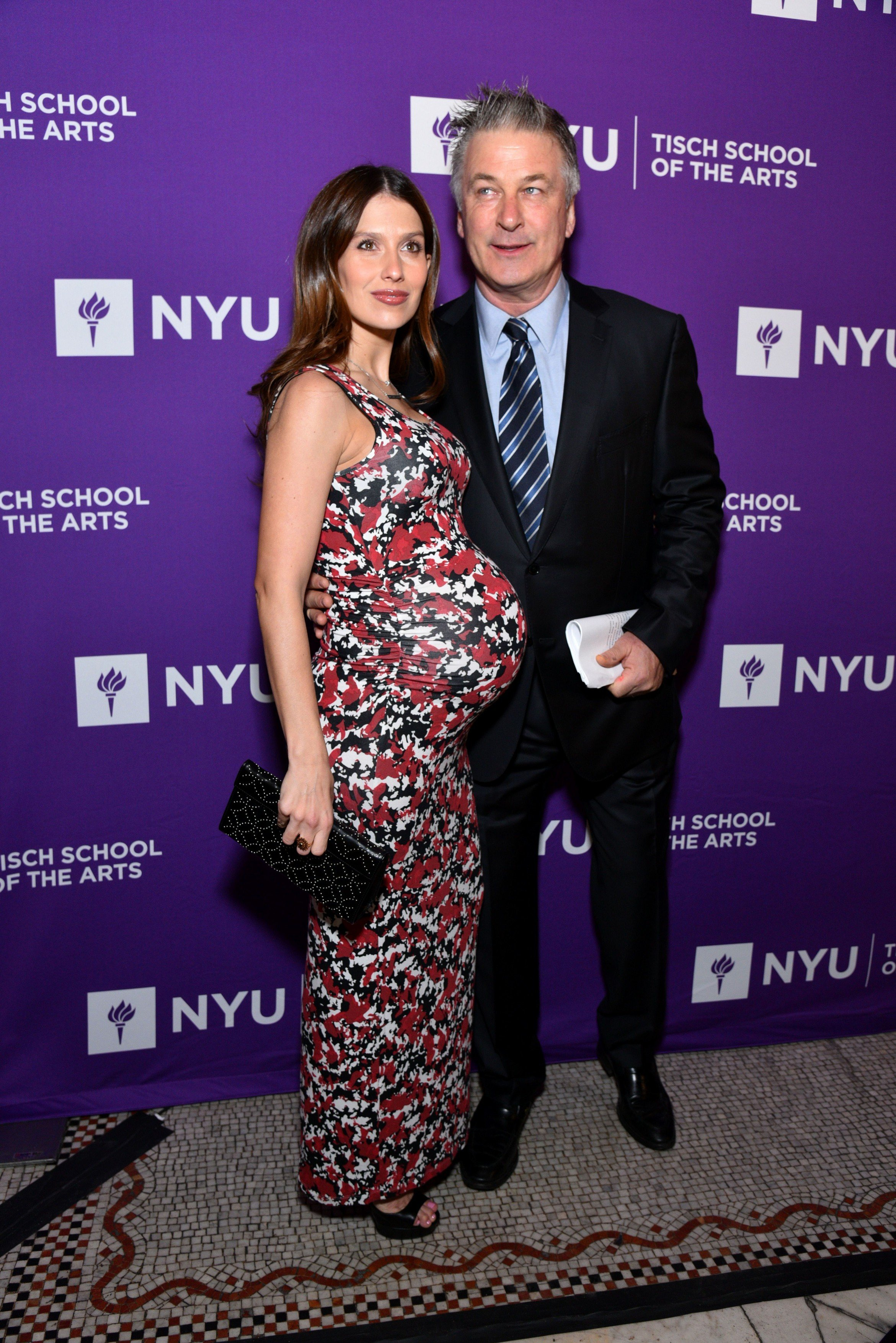 Hilaria Baldwin, Alec Baldwin NYU Tisch School of the Arts Gala, New York, USA - 16 Apr 2018, Image: 368717441, License: Rights-managed, Restrictions: , Model Release: no, Credit line: Profimedia, TEMP Rex Features