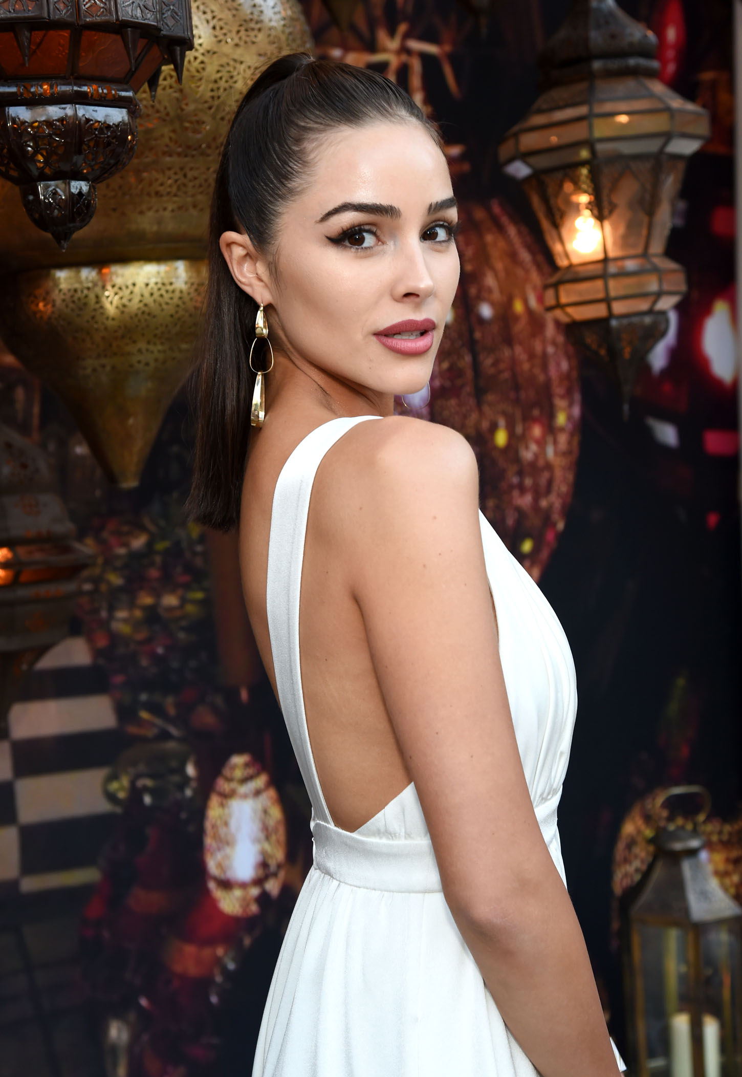 PALM SPRINGS, CA - APRIL 13: Olivia Culpo attends Rachel Zoe's 4th Annual ZOEasis at Parker Palm Springs on April 13, 2018 in Palm Springs, California.  (Photo by Michael Kovac/Getty Images for Belvedere Vodka)