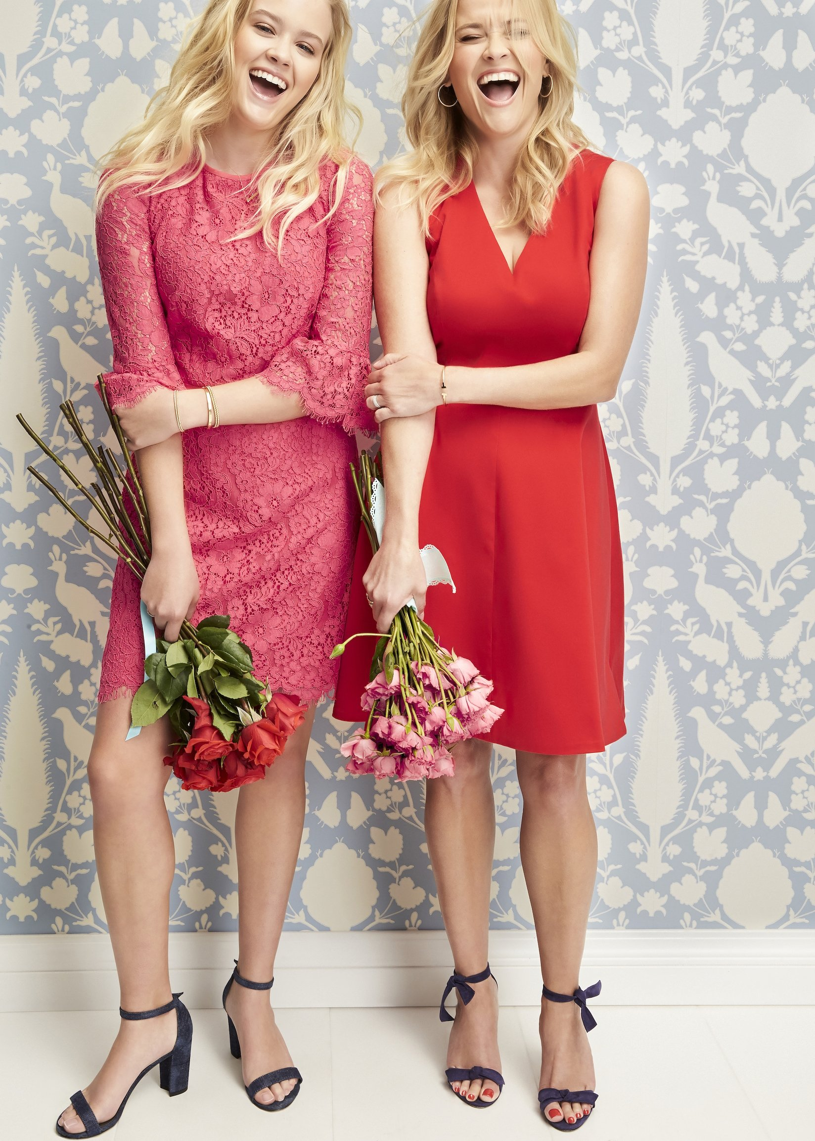 Reese Witherspoon and her daughter Ava Phillippe are a double threat in a new campaign for the Hollywood actresss clothing line, Draper James. The 41-year-old star enlisted the help of 18-year-old Ava to model some gorgeous clothes from the brands Valentines V-Day collection. The blonde beauties look Valentines chic in the photoshoot, wearing complimenting red and pink dresses, with Reeses sleeveless number retailing for 5. Ava  whose father in actor Ryan Phillippe, also models and cool tee with a heart print, which costs . Talking about doing the photoshoot together, Reese said: I thought it might be fun to focus on Mother/Daughter love this Spring.  There is nothing like the love I have for my daughter. We share every emotion with each other, our hopes, and dreams& We can talk for hours. Ava added: I love being around my mom, and this shoot was an opportunity to have fun and support her work as a female entrepreneur.  She also brings a lot of comfort and positive energy with her to work, and I think its inspiring to see her personal relationships with everybody on set.  I had a great time being a part of the shoot with the bonus of having even more mother/daughter pictures!. 01 Feb 2018, Image: 362073290, License: Rights-managed, Restrictions: World Rights, Model Release: no, Credit line: Profimedia, Mega Agency