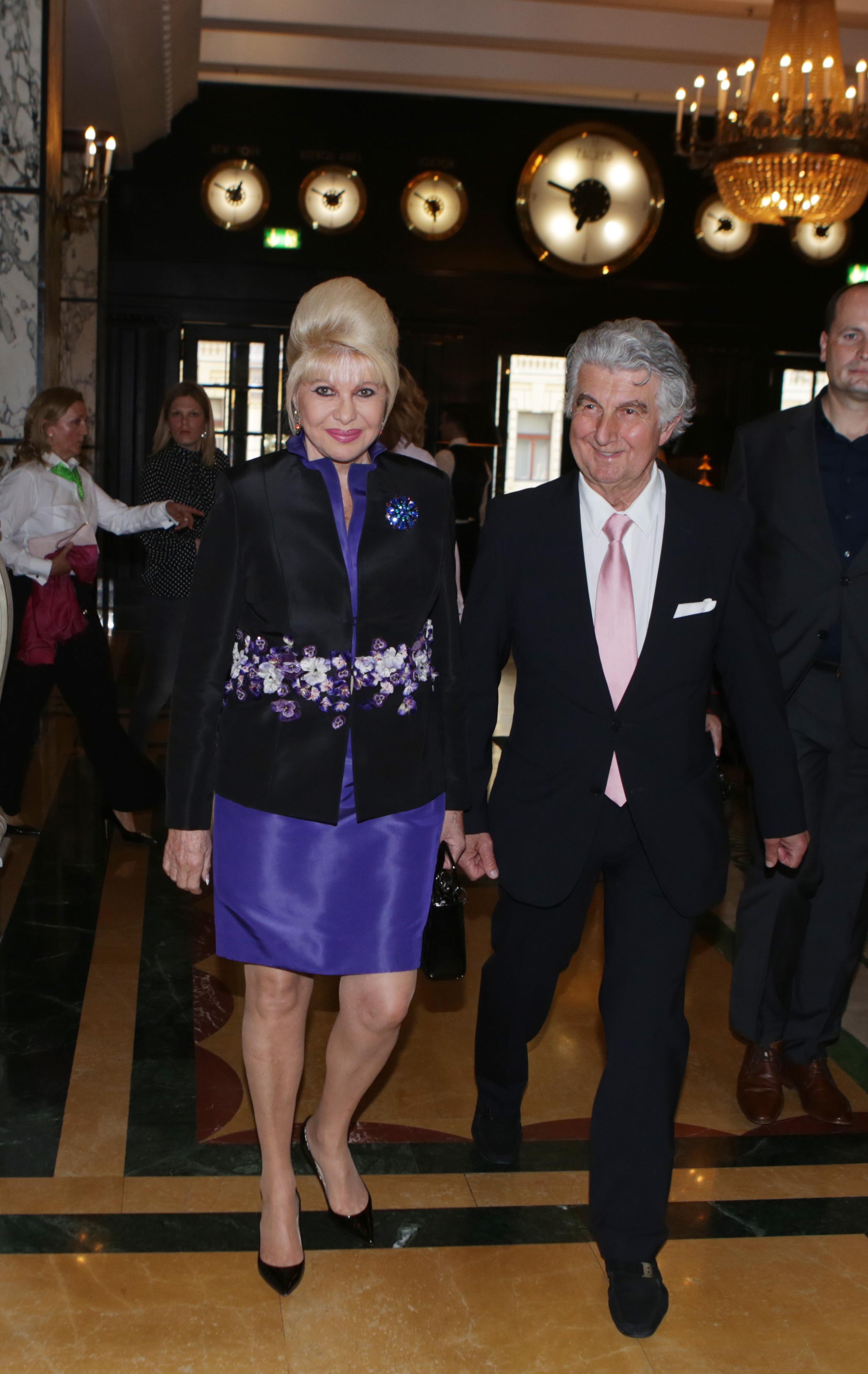 Ivana Trump i vlasnik licence Miss Universe za Hrvatsku Vladimir Kraljević