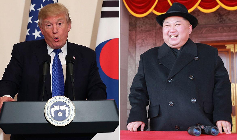 Donald Trump i Kim Jong-un