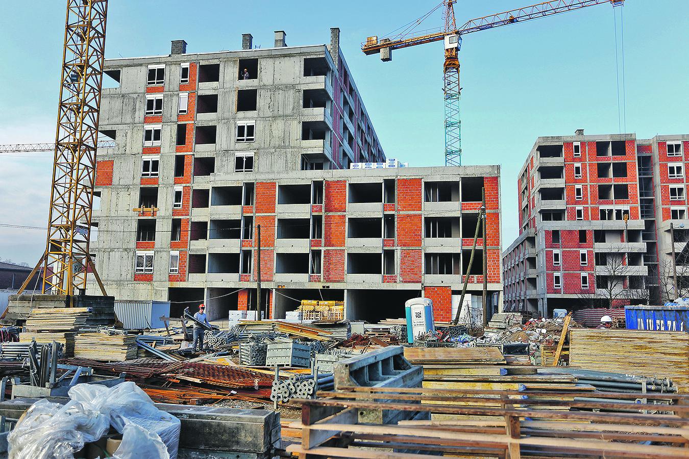 Ilustracija: Gradilište u Svetoj Klari