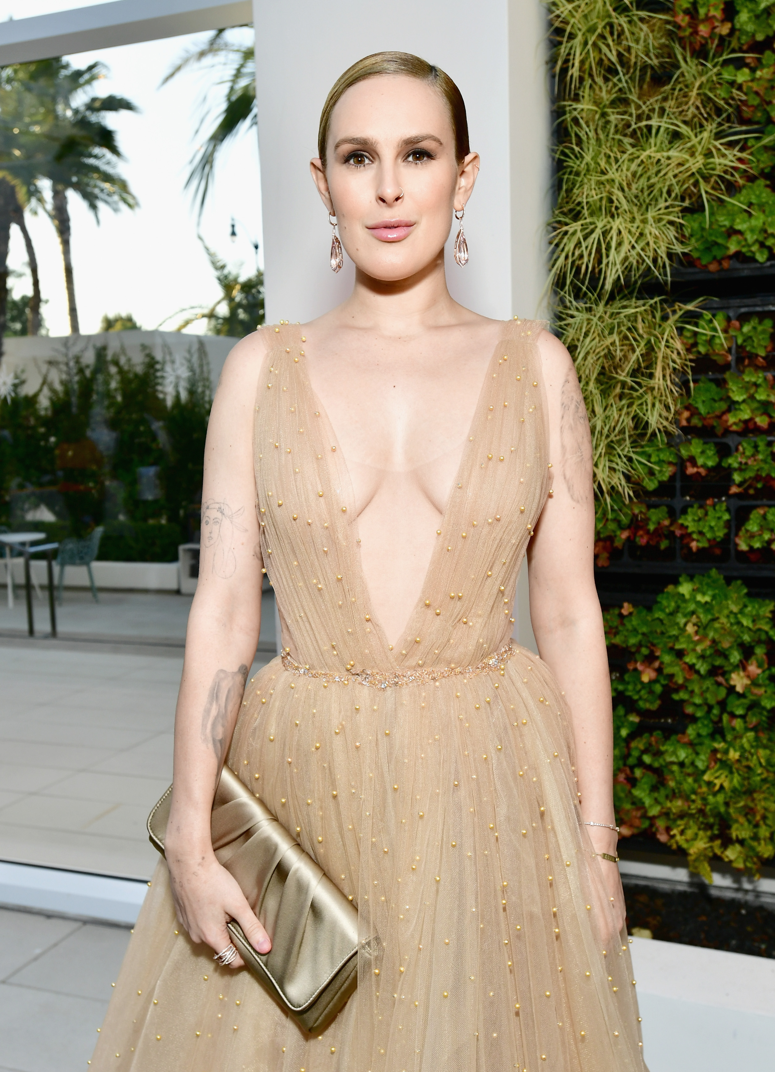 BEVERLY HILLS, CA - APRIL 20:  Rumer Willis attends the 25th Annual Race To Erase MS Gala at The Beverly Hilton Hotel on April 20, 2018 in Beverly Hills, California.  (Photo by Emma McIntyre/Getty Images for Race To Erase MS)