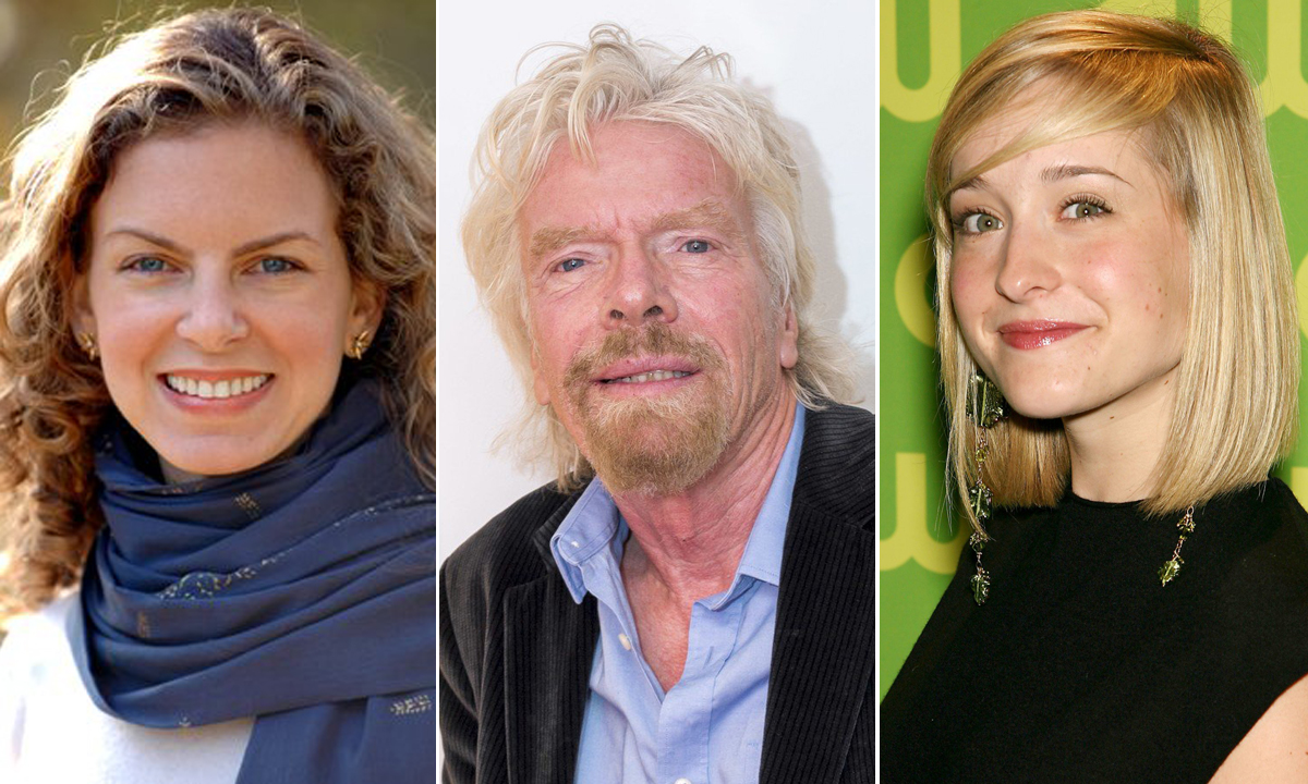 Sara Bronfman, Rishard Branson i Allison Mack