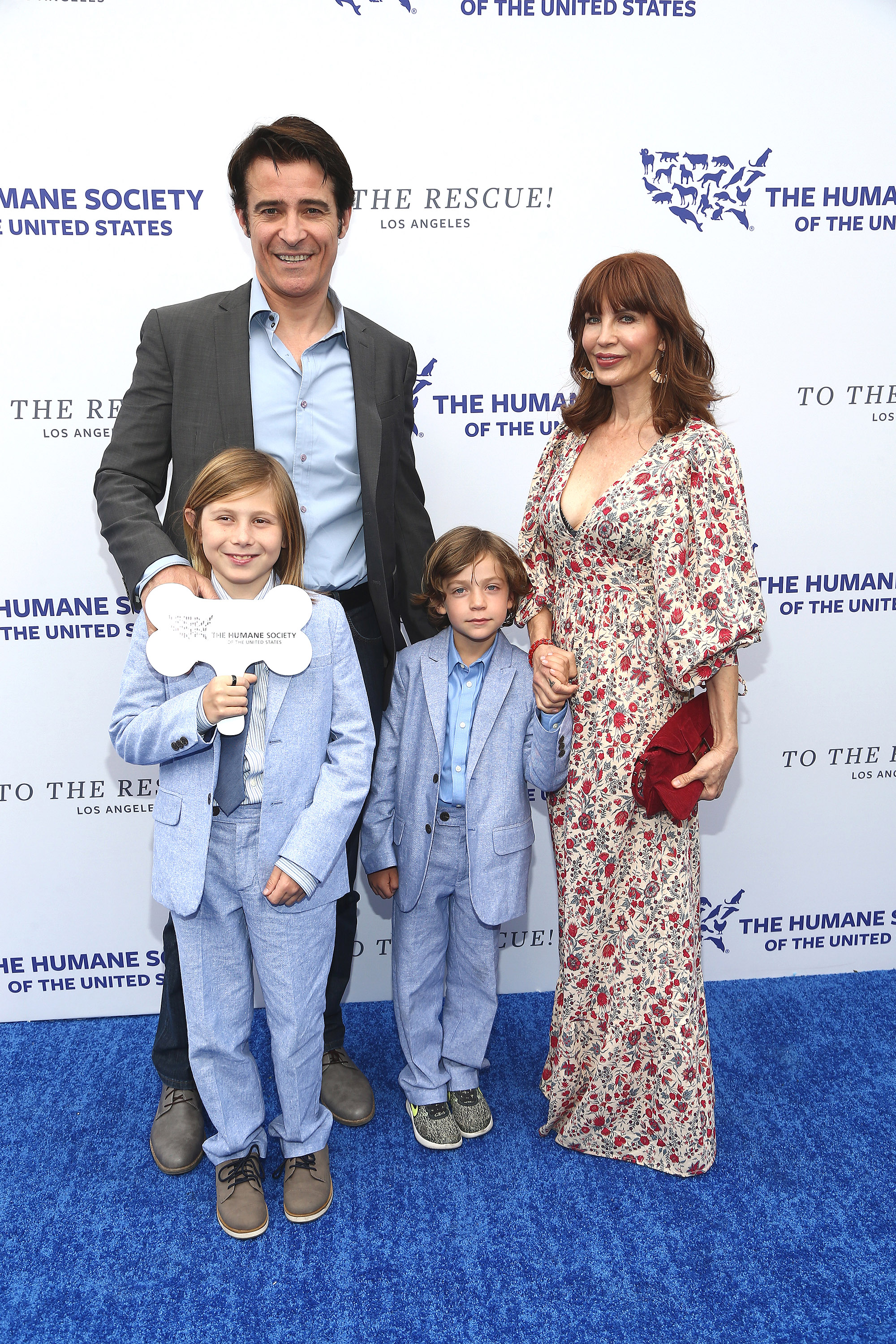 LOS ANGELES, CA - APRIL 21:  Goran Visnjic and family attend The Humane Society Of The United States' To The Rescue! Los Angeles Gala at Paramount Studios on April 21, 2018 in Los Angeles, California.  (Photo by Tommaso Boddi/Getty Images)