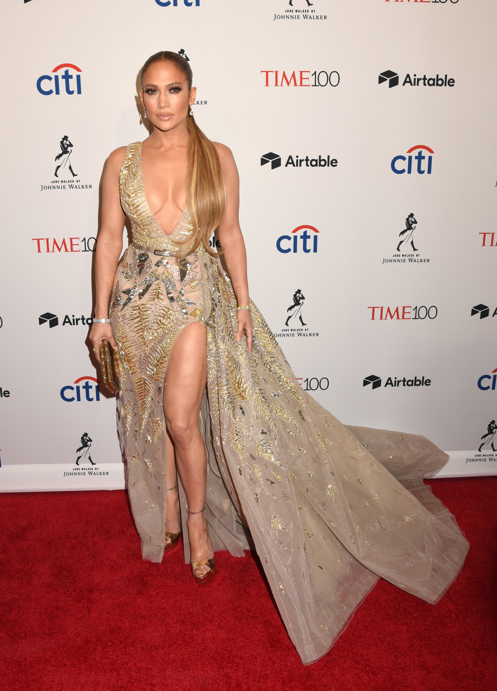Celebrities attend the 2018 Time 100 Gala. Held @ Frederick P. Rose Hall at Lincoln Center, New York City, NY. April 24, 2018.  © Photo Image Press/Splash News <P> Pictured: Jennifer Lopez <B>Ref: SPL1687307  240418  </B><BR/> Picture by: Photo Image Press<BR/> </P><P> <B>Splash News and Pictures</B><BR/> Los Angeles:310-821-2666<BR/> New York:212-619-2666<BR/> London:870-934-2666<BR/> <span id=