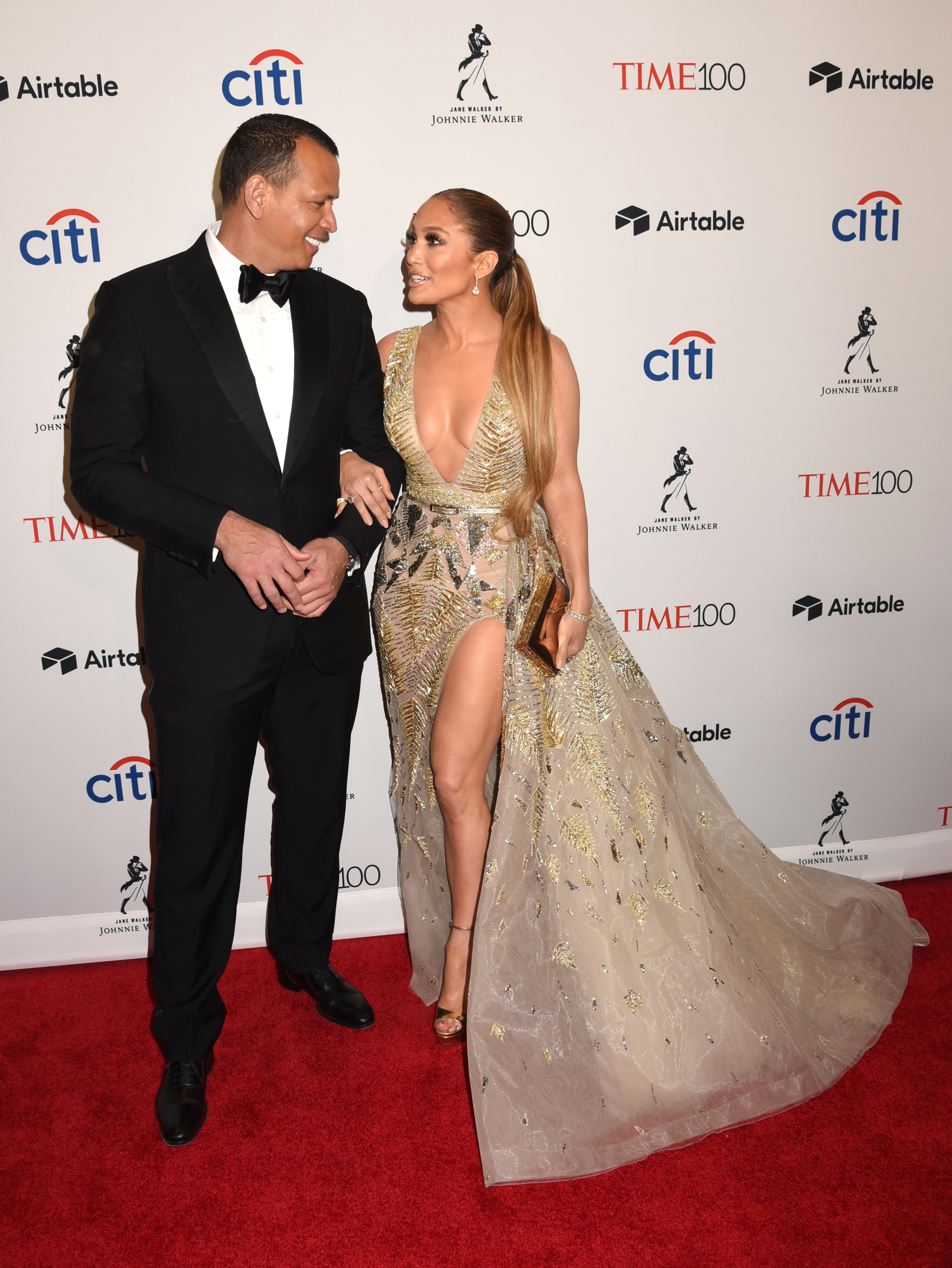 Celebrities attend the 2018 Time 100 Gala. Held @ Frederick P. Rose Hall at Lincoln Center, New York City, NY. April 24, 2018.  © Photo Image Press/Splash News <P> Pictured: Alex Rodriguez, & Jennifer Lopez <B>Ref: SPL1687307  240418  </B><BR/> Picture by: Photo Image Press<BR/> </P><P> <B>Splash News and Pictures</B><BR/> Los Angeles:310-821-2666<BR/> New York:212-619-2666<BR/> London:870-934-2666<BR/> <span id=