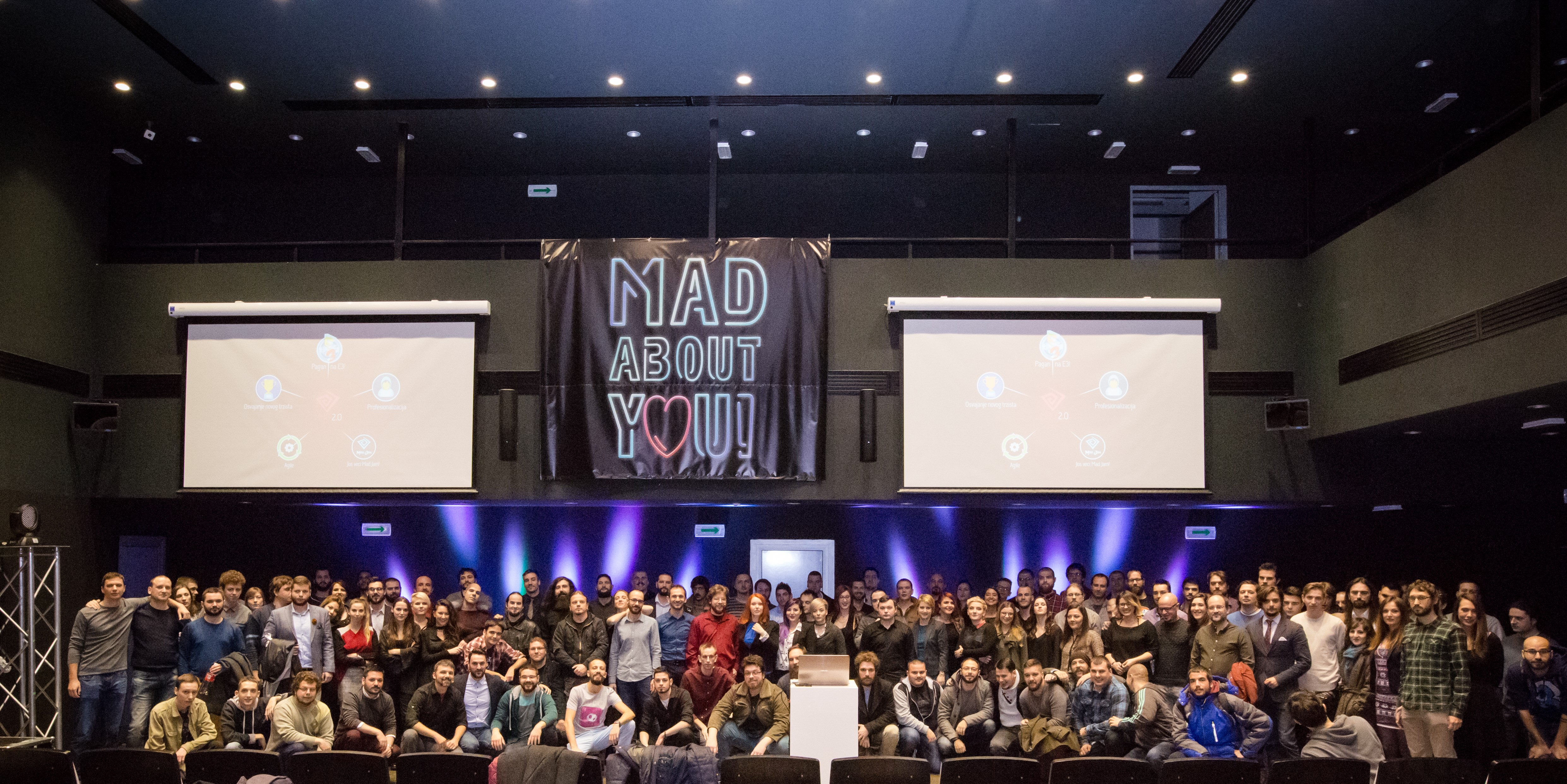 Članovi studija za razvoj video igara Mad Head Games