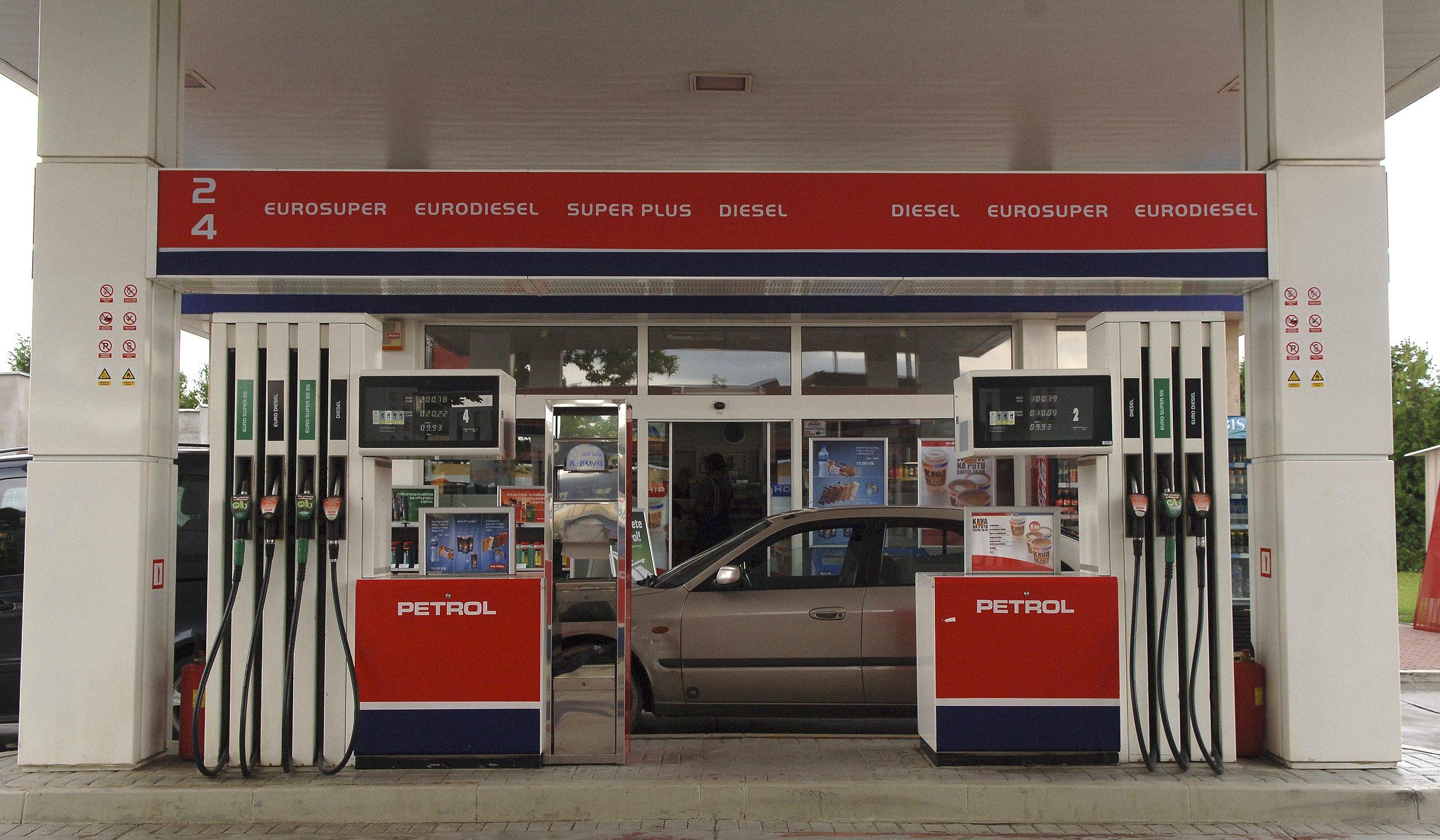 Benzinska crpka Petrol
