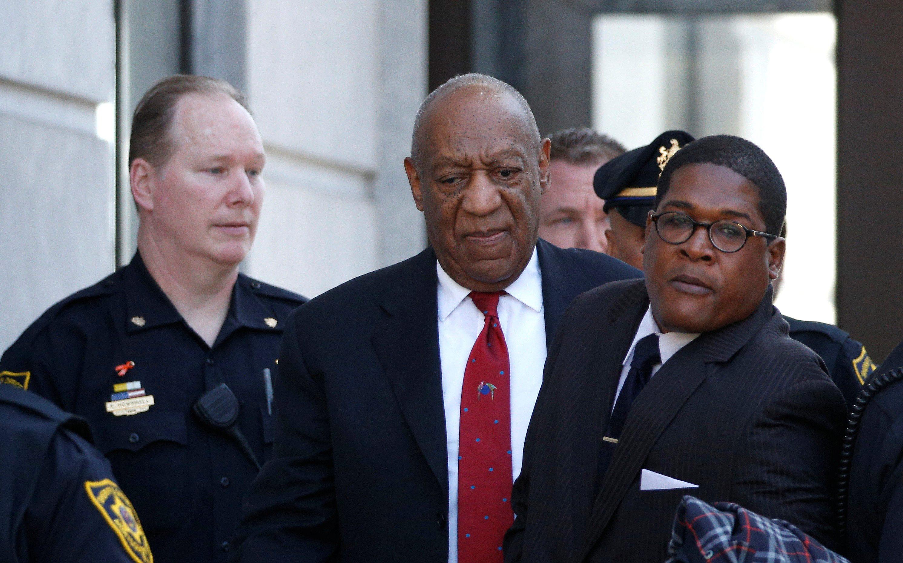 Bill Cosby nakon izricanja presude